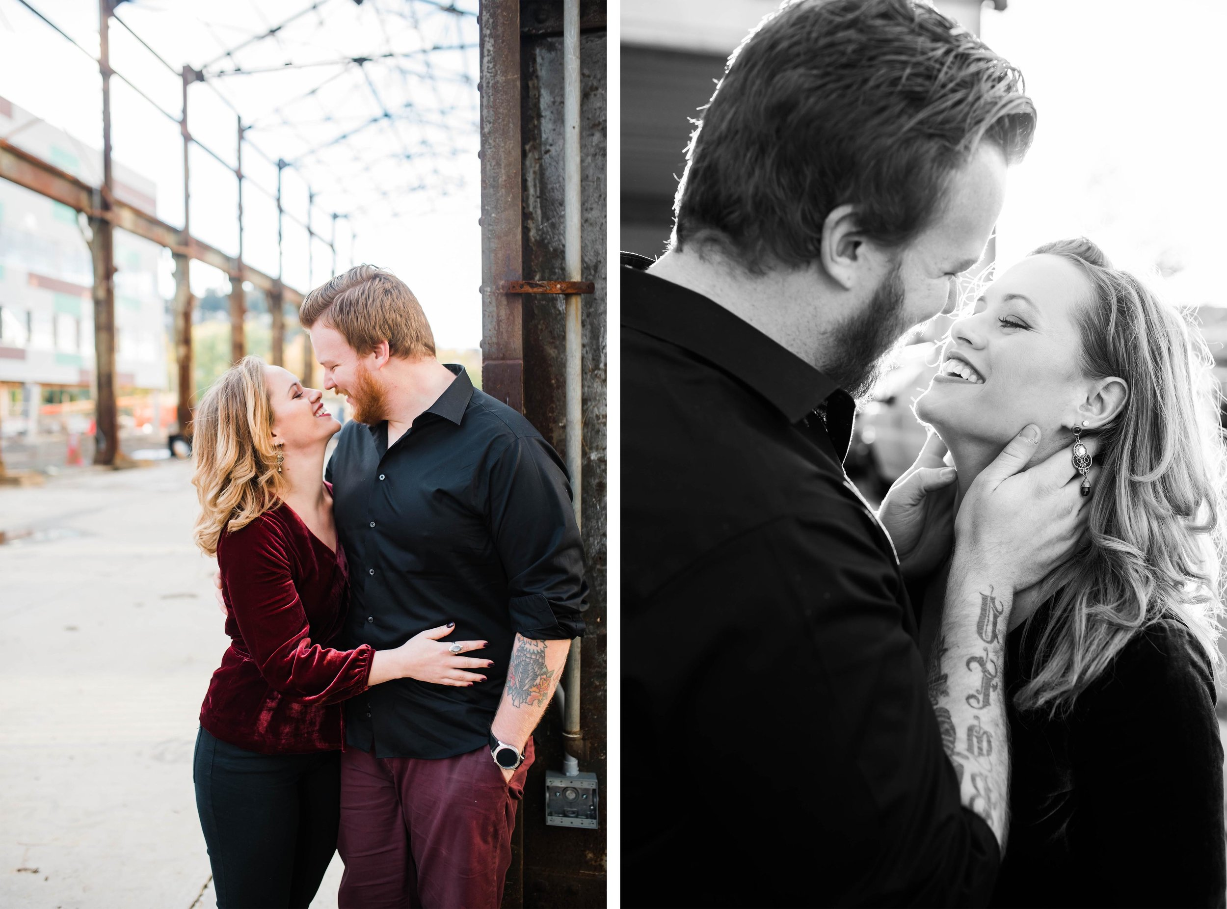 strip district engagement pictures, pittsburgh wedding photographer