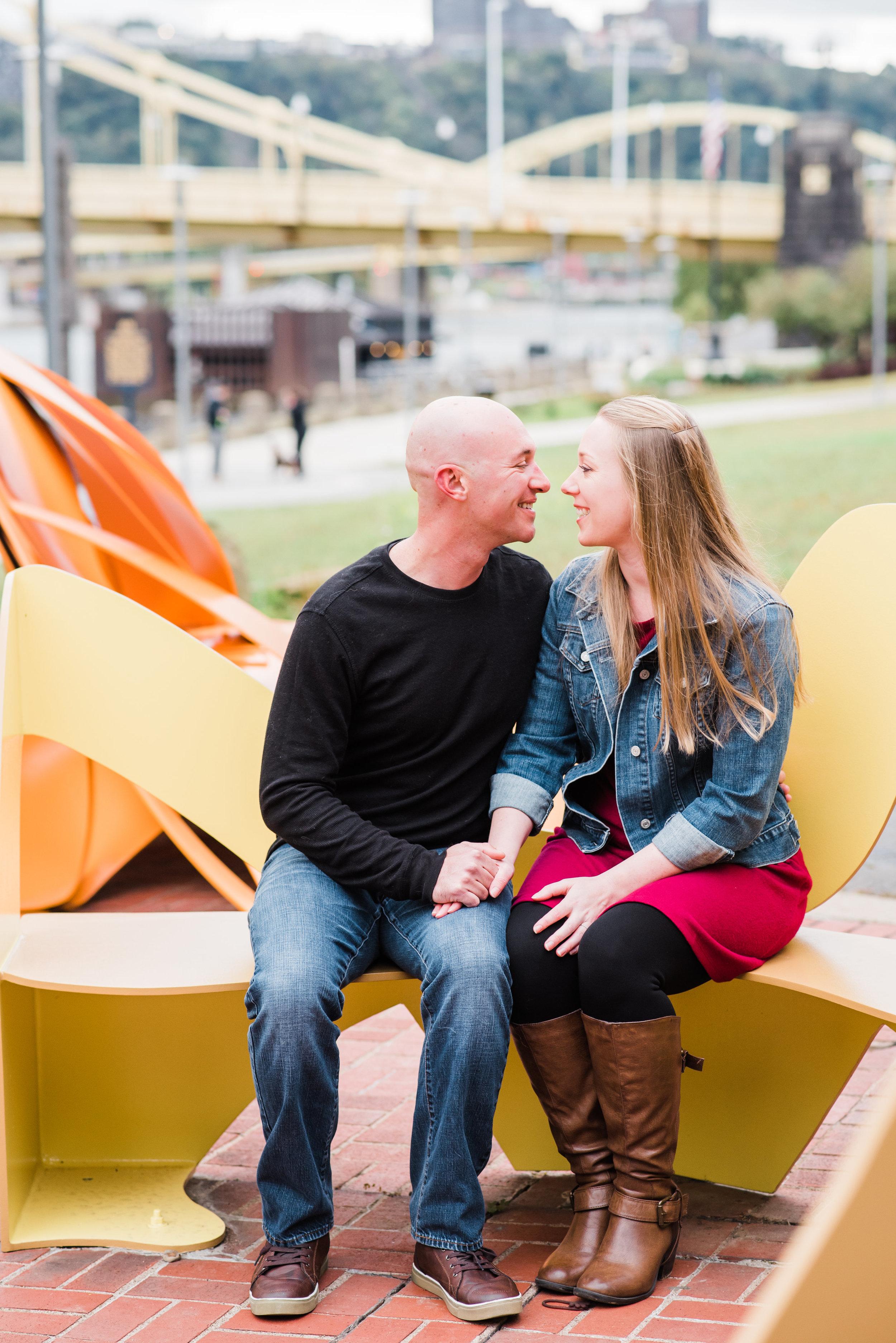 pittsburgh engagement photographer north shore