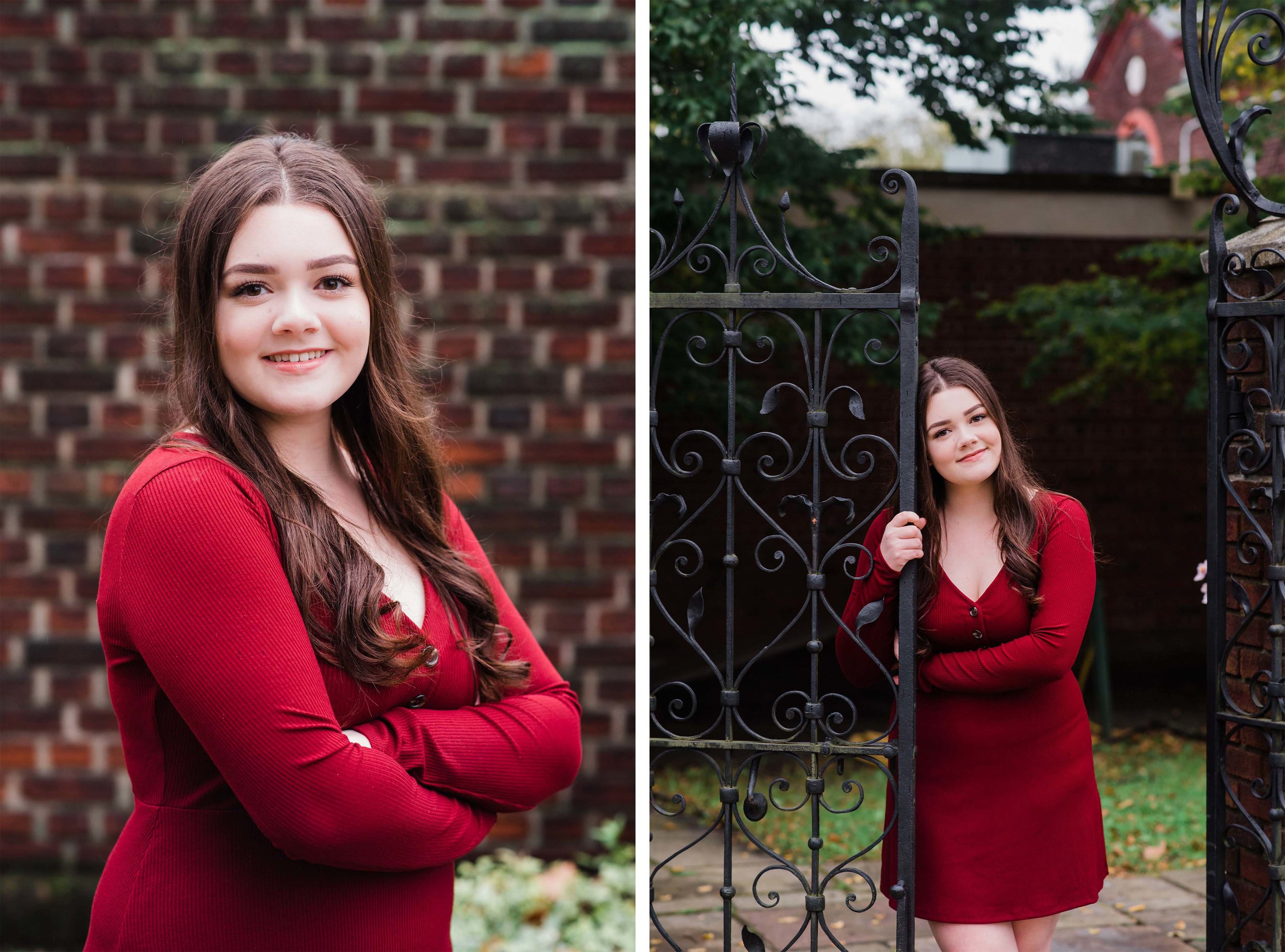 Mellon Park senior portraits