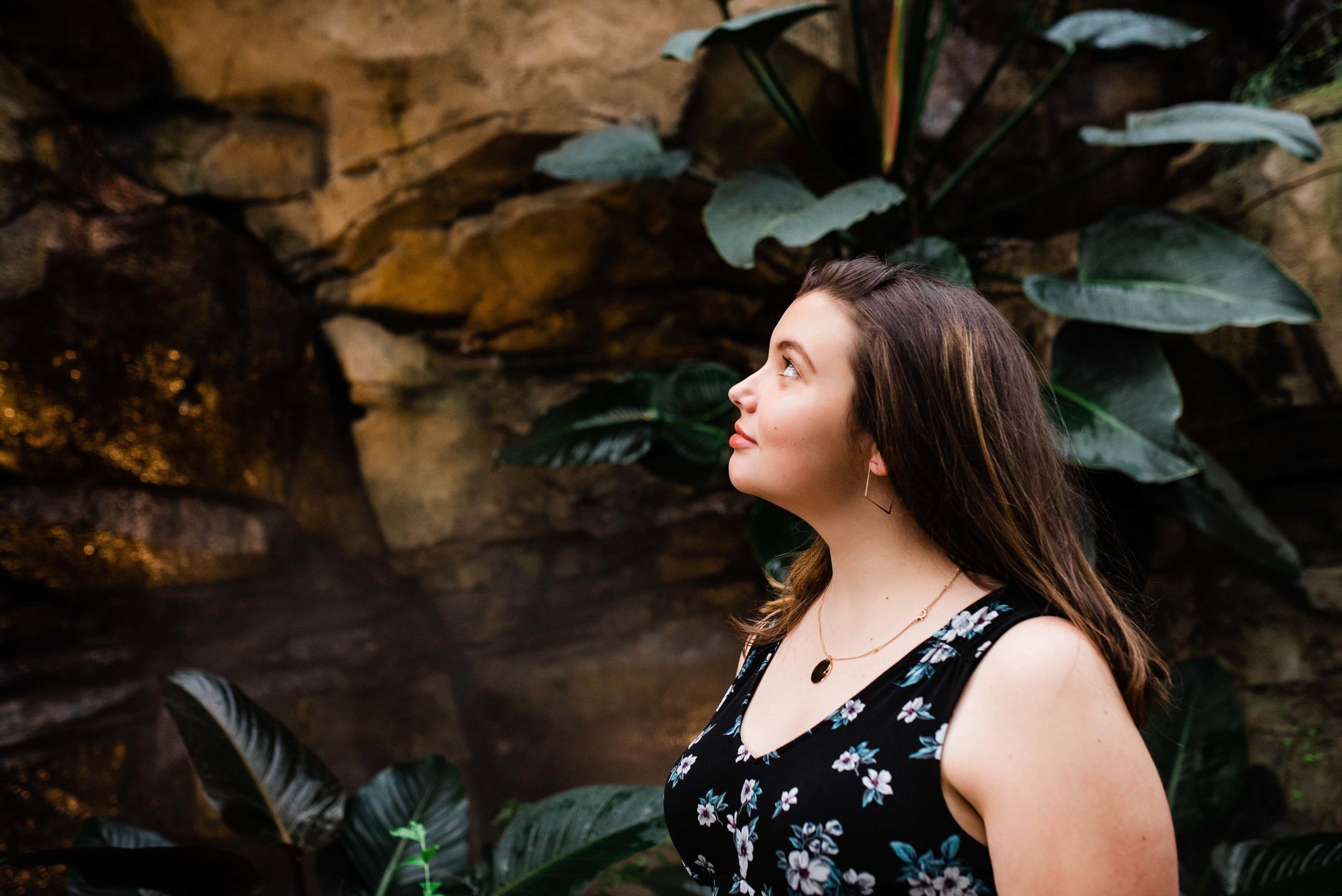 Phipps Conservatory High School Senior Session