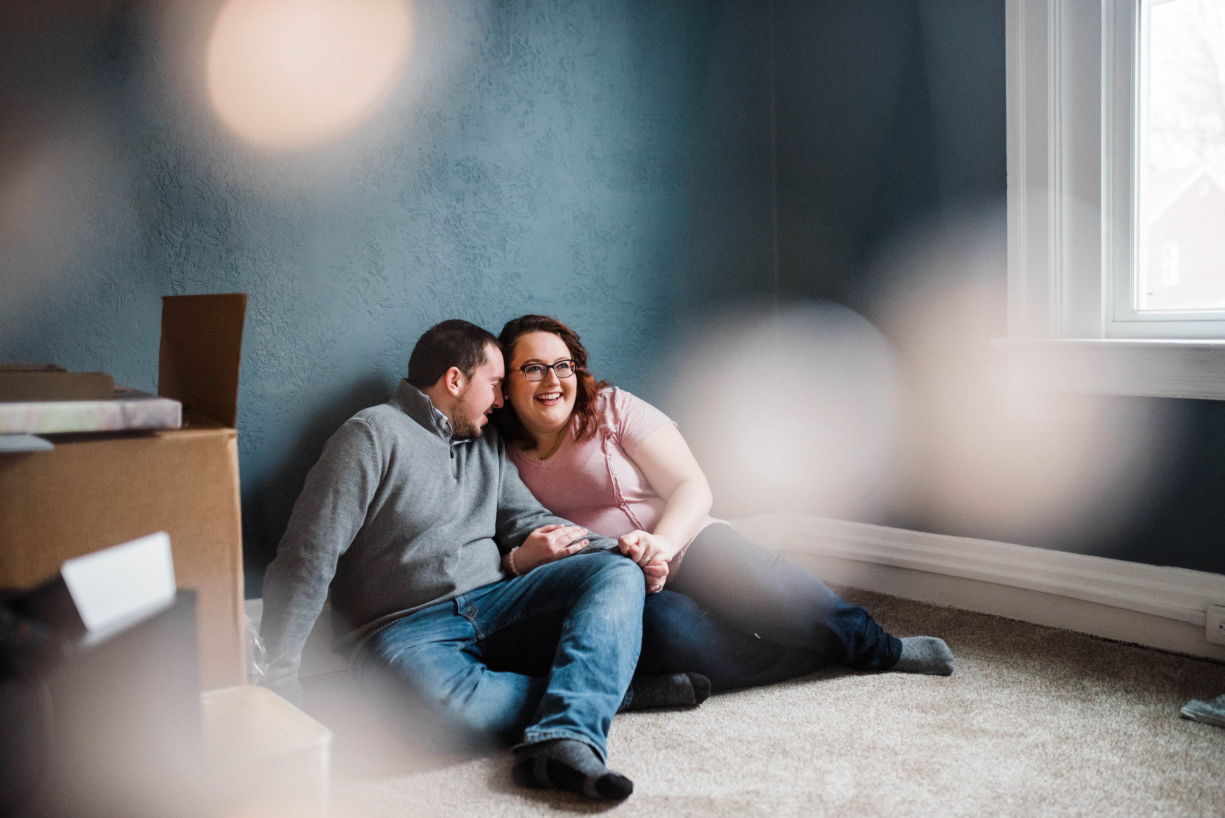 New Home Pittsburgh Couples Session