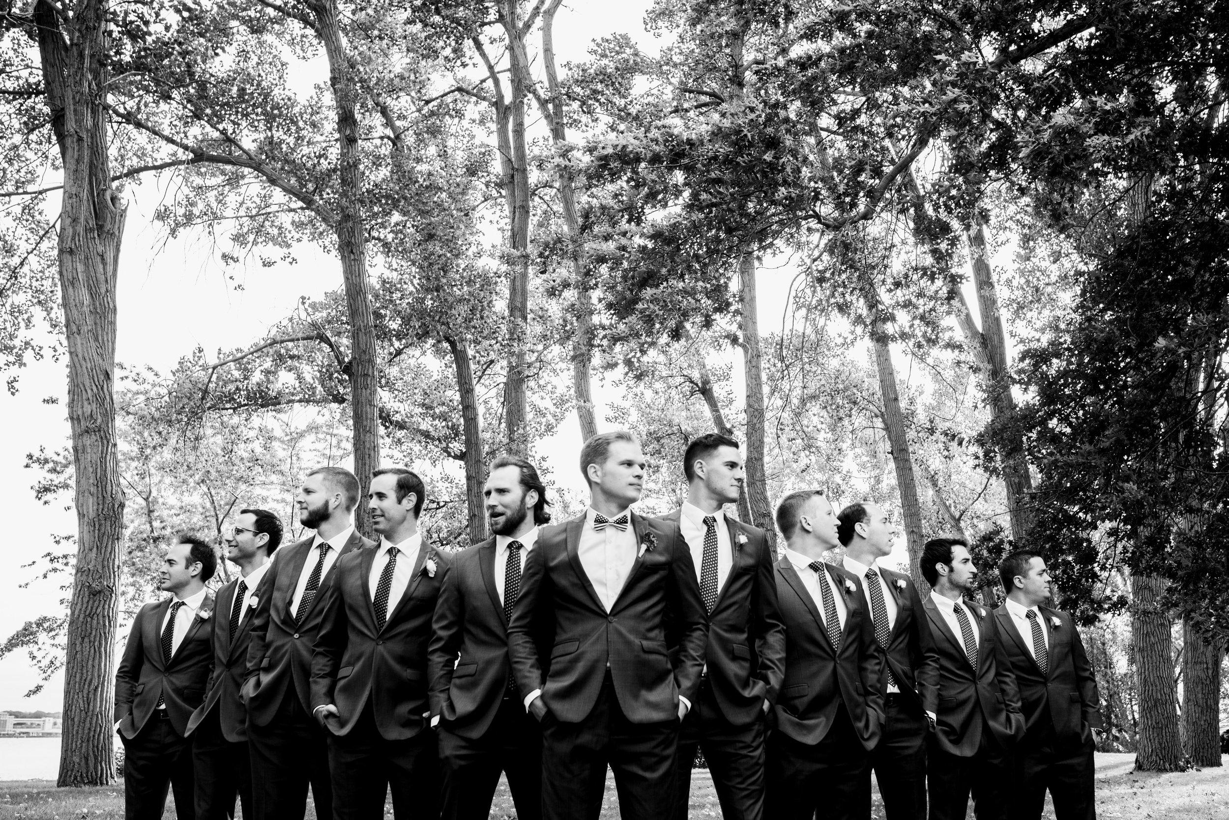 Pittsburgh wedding photographers erie wedding