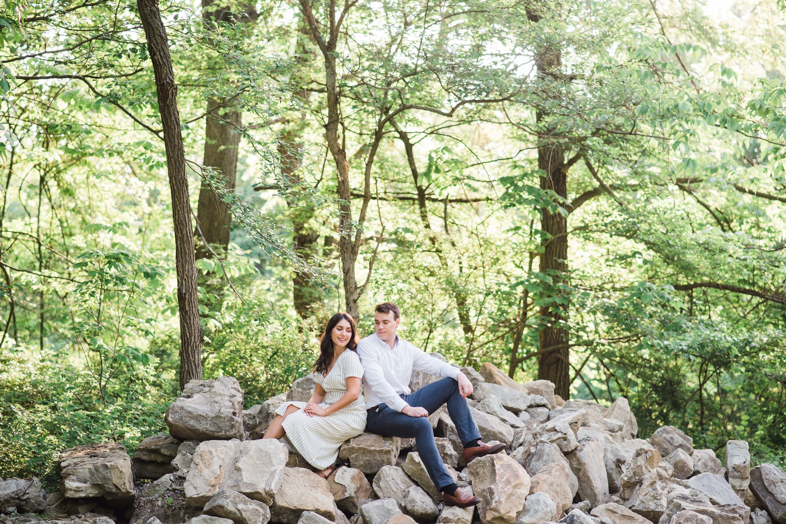 sewickley heights engagement session