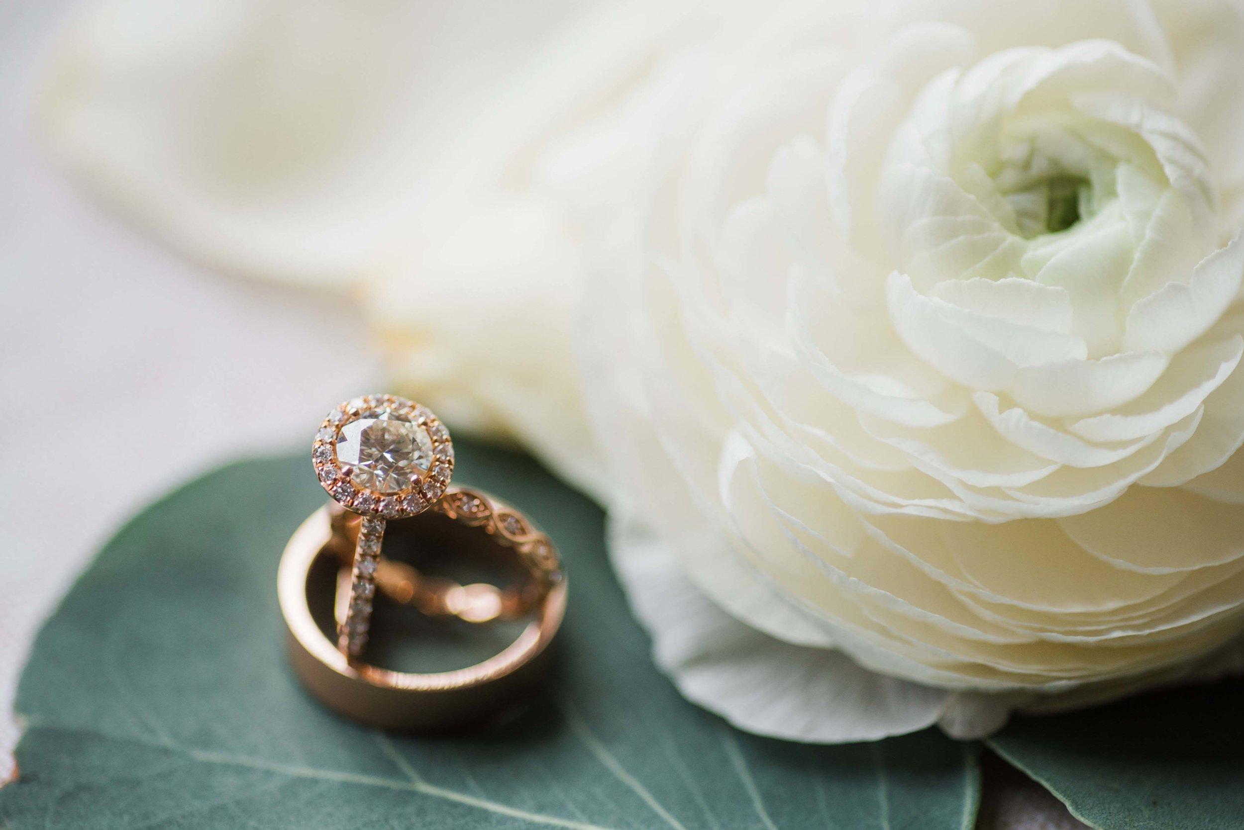 wedding rings flowers pittsburgh