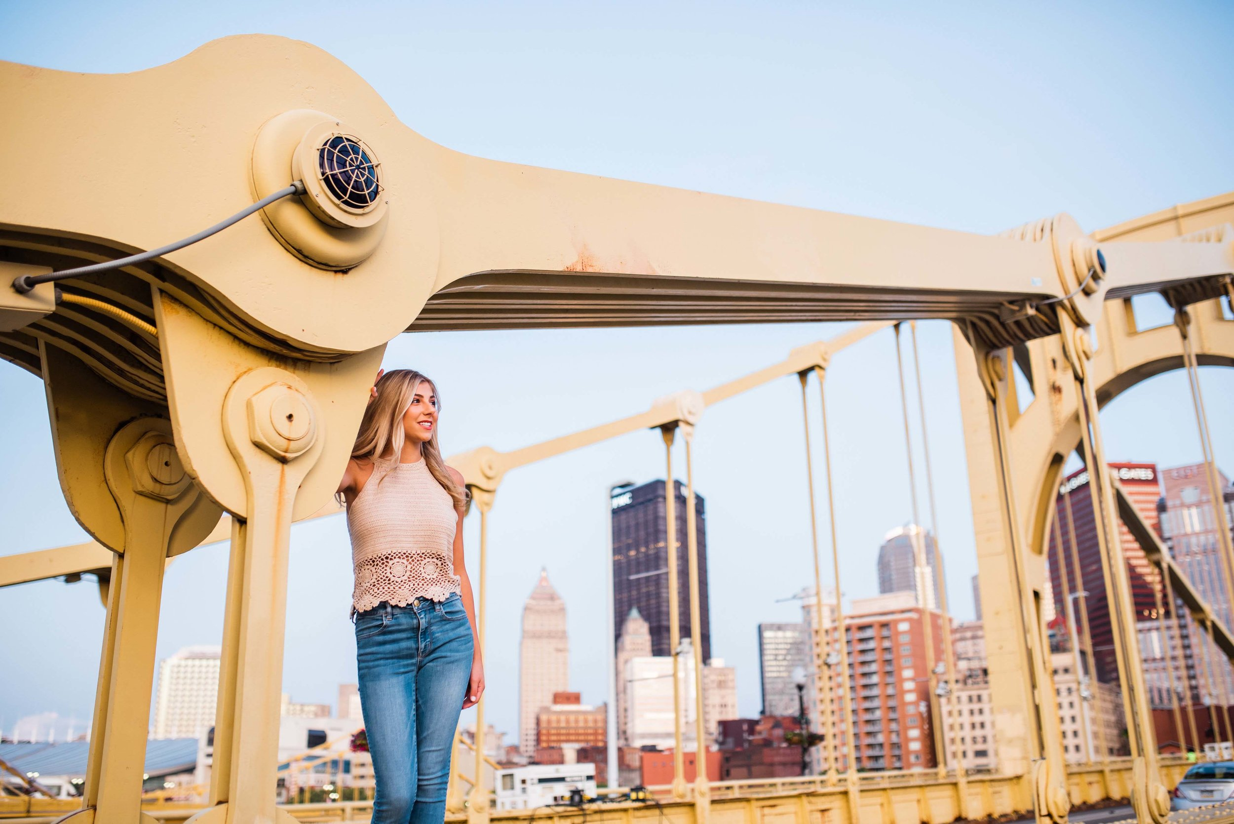 north shore senior session pittsburgh photographer