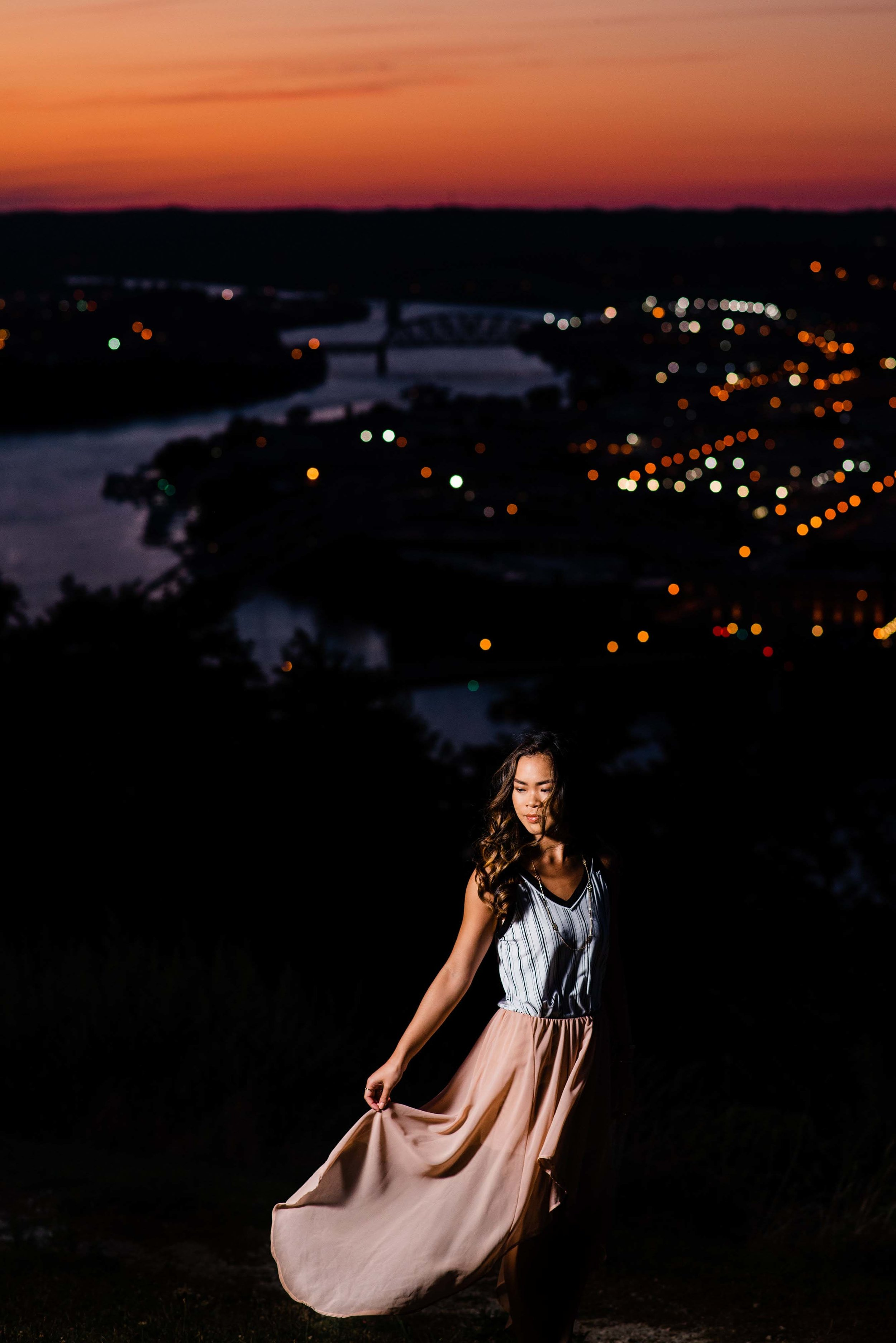 pittsburgh senior portrait session