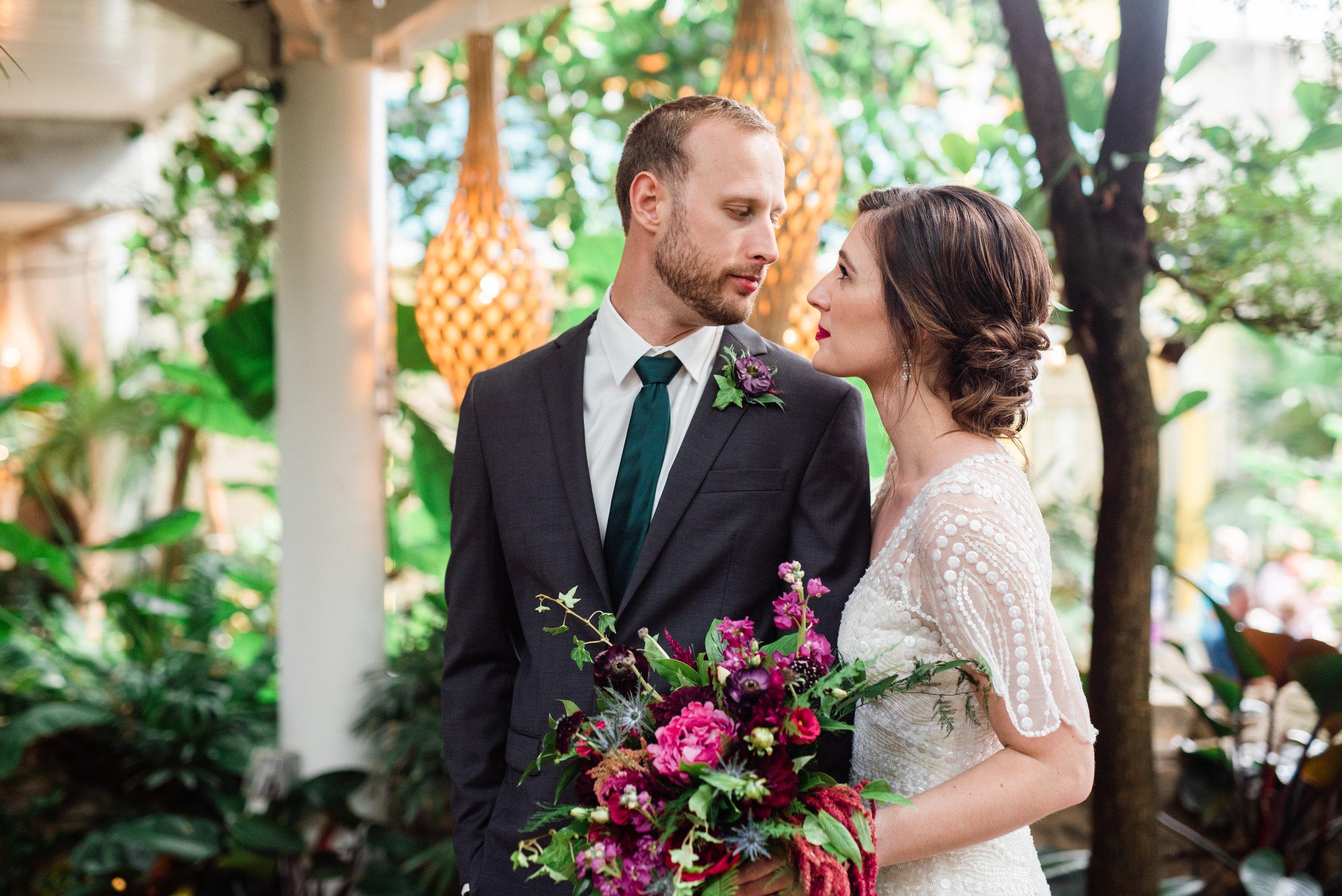 phipps conservatory wedding - pittsburgh photographer