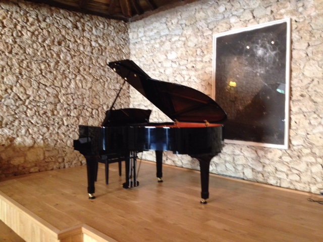 Yamaha Piano in Concert Barn.JPG
