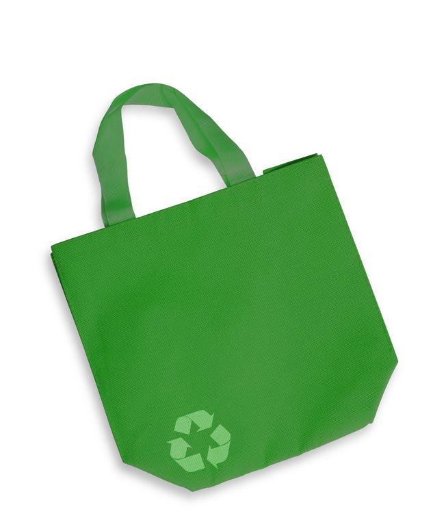 Skip the plastic bags and turn to reusable bags - The toughest part of this task is to actually remember them. A suggestion to avoid forgetting your bags is to store them in the back seat of your car.