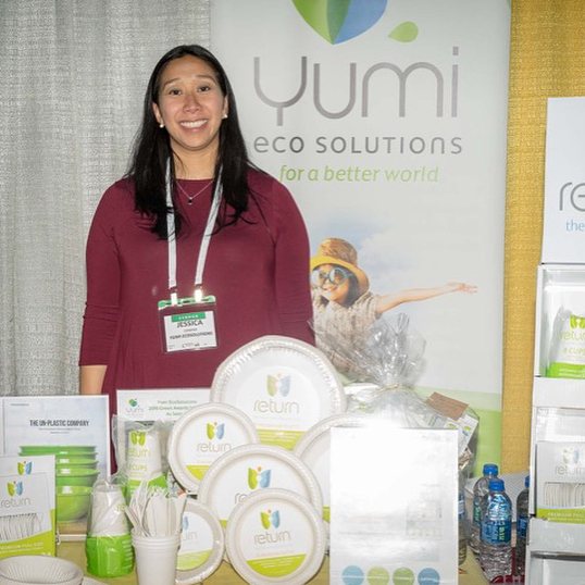 Looking forward to another great day at Chexpo 2018. We love meeting with the stores who carry our products and introducing our brand to new retailers too! * * * * #YumiEcoSolutions #PlantsNotPlastic #Return #TheThrowAwayThatGoesAway #compostable #biodegradable #thereisnoplanetb #gogreen #ecofriendly #greenliving