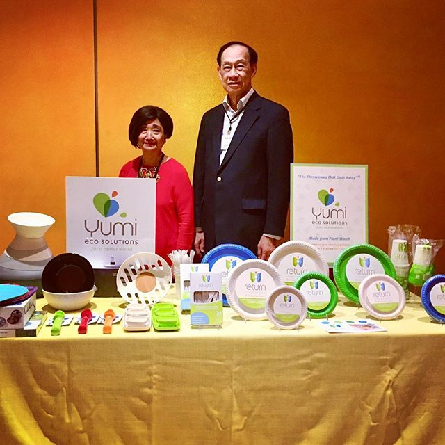 Yumi EcoSolutions is participating by invitation at the Consensus Great Brands Show (CGBS) today at the TheTimesCenter in New York City. * * * * #YumiEcoSolutions #ecofriendly #Return #TheThrowAwayThatGoesAway #PlantsNotPlastic #compostable #biodegradable #sustainableliving #sustainable #renewable #ecoliving
