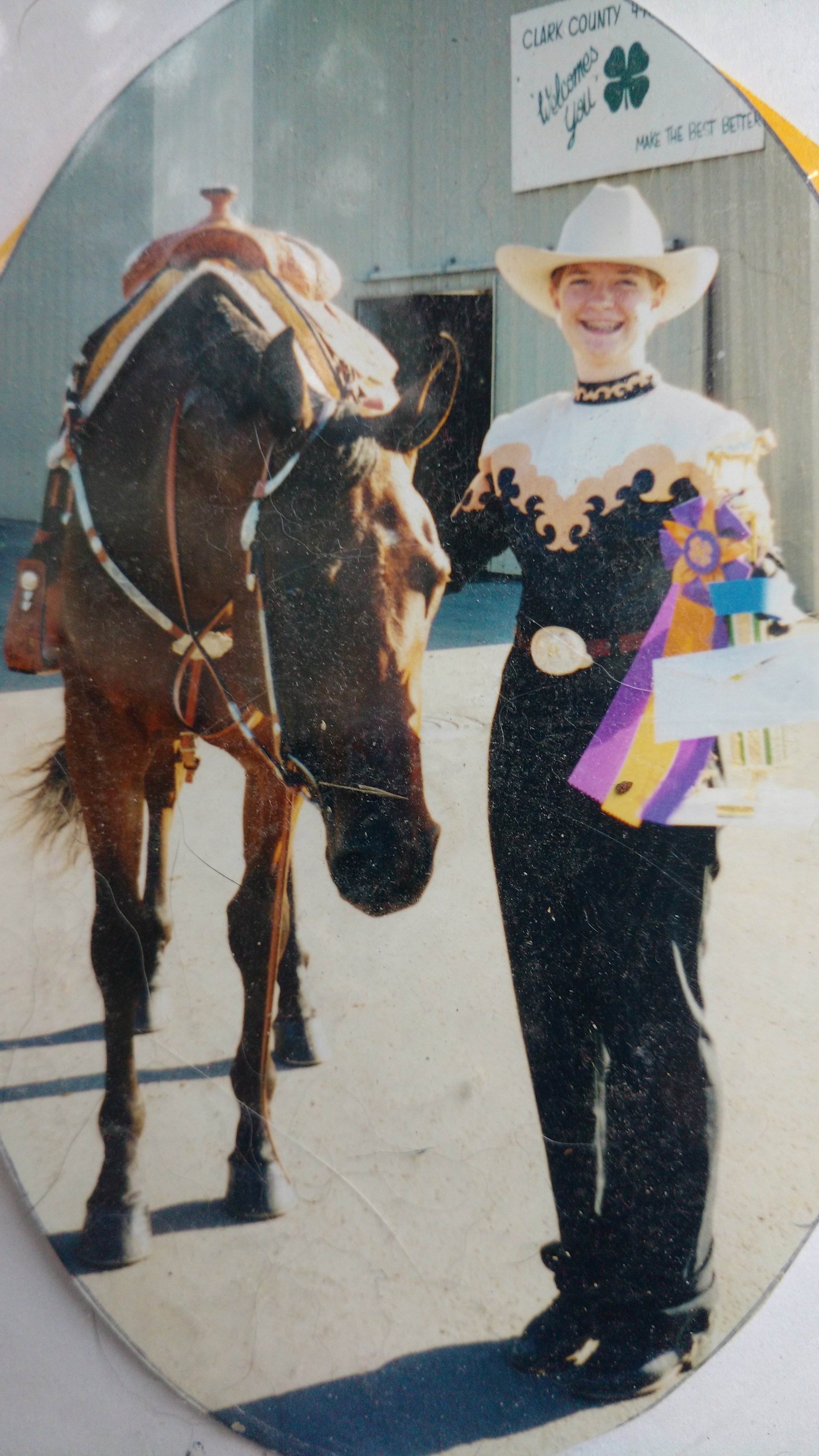 Rebekah Larimer with Theresa Wietrick's, Tiger's Sable Houdina