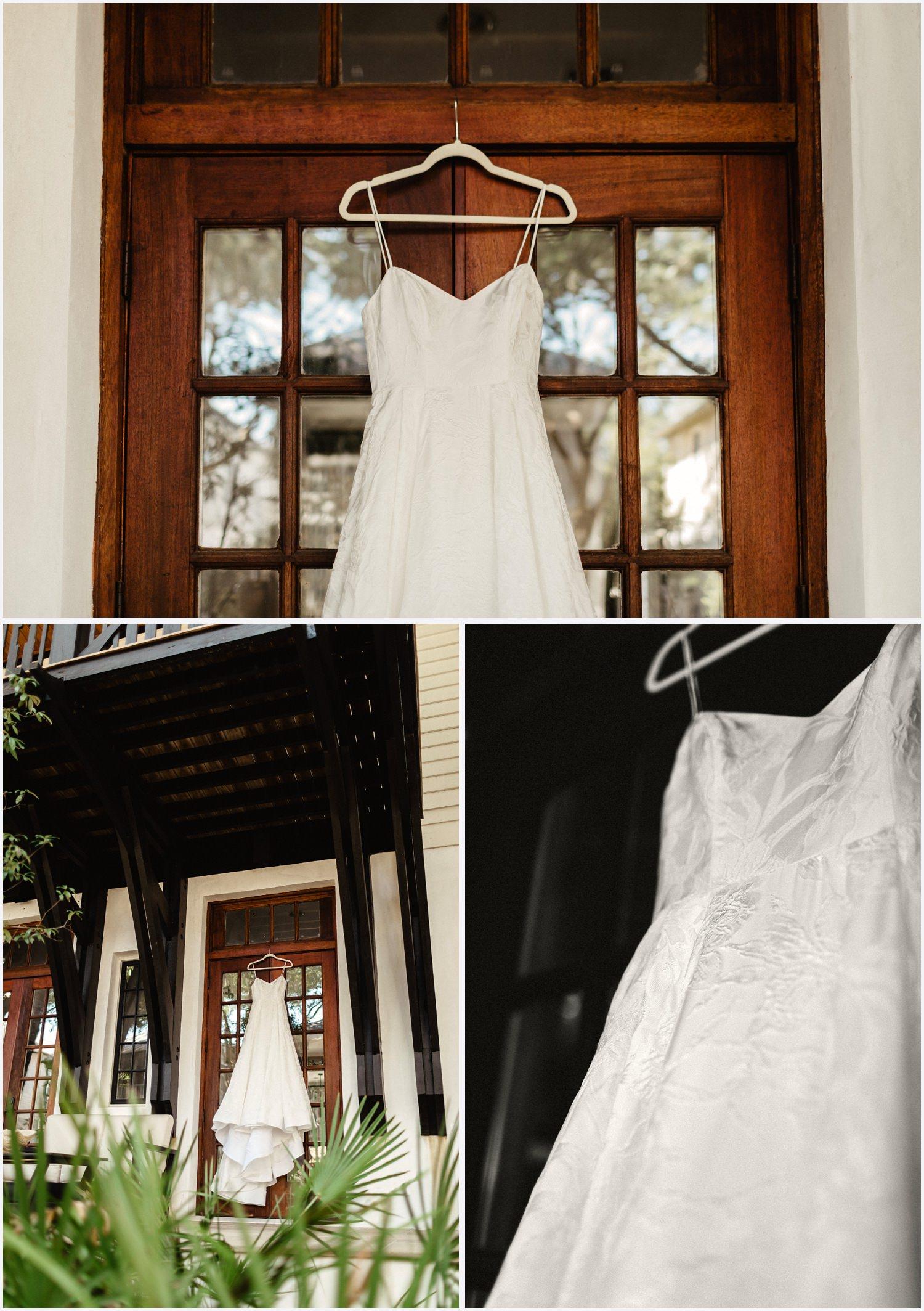 Wedding dress in Seaside, FL