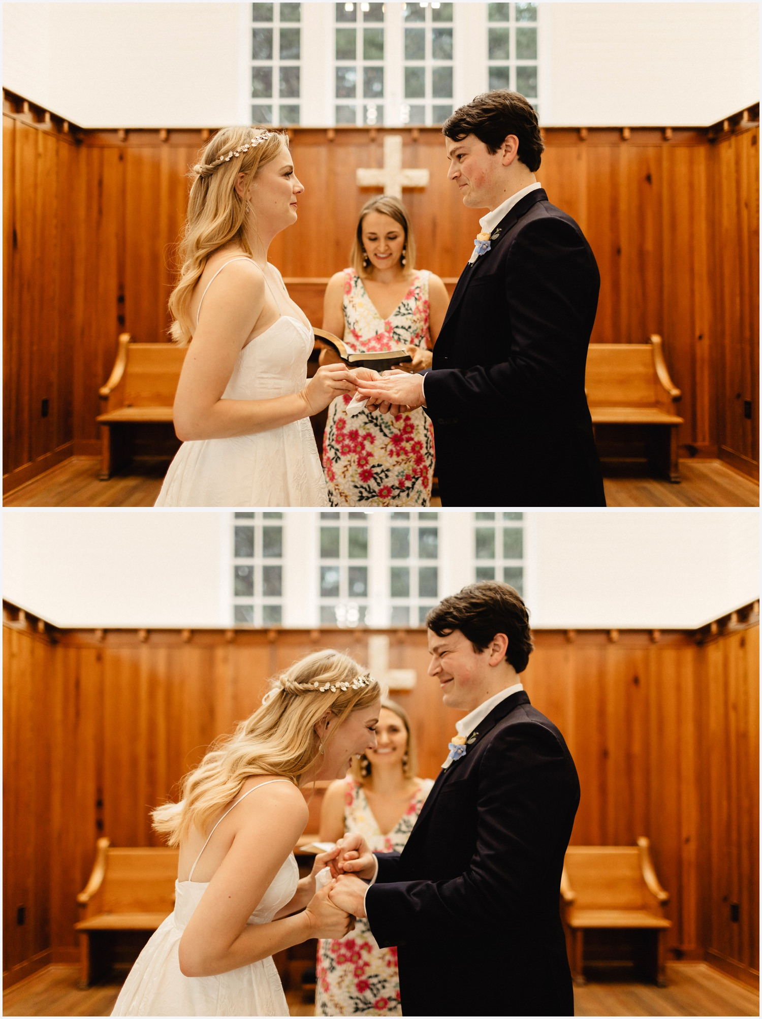 Seaside Chapel wedding ceremony