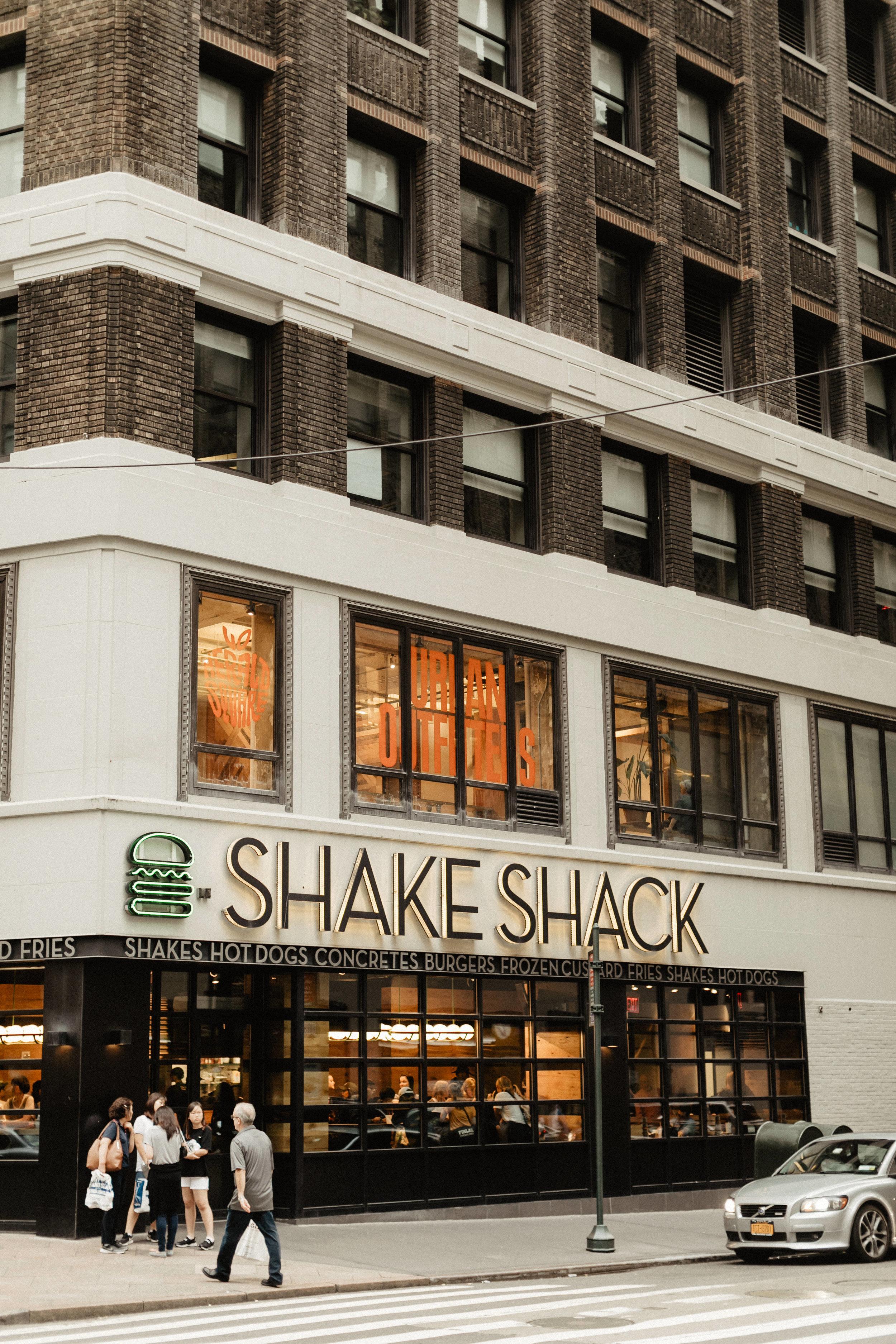 Shake Shack in Manhattan, New York City