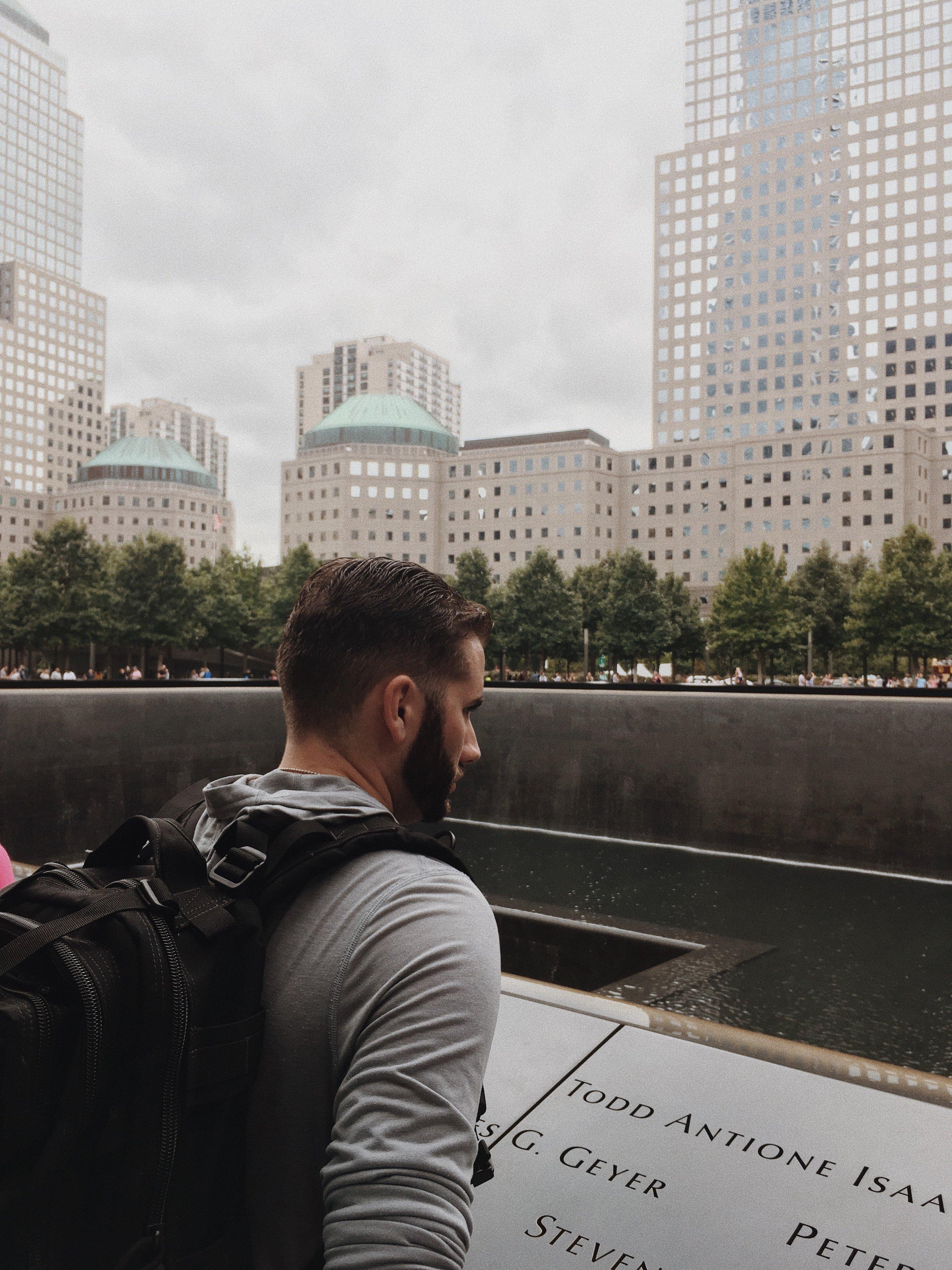911 Memorial in Manhattan New York