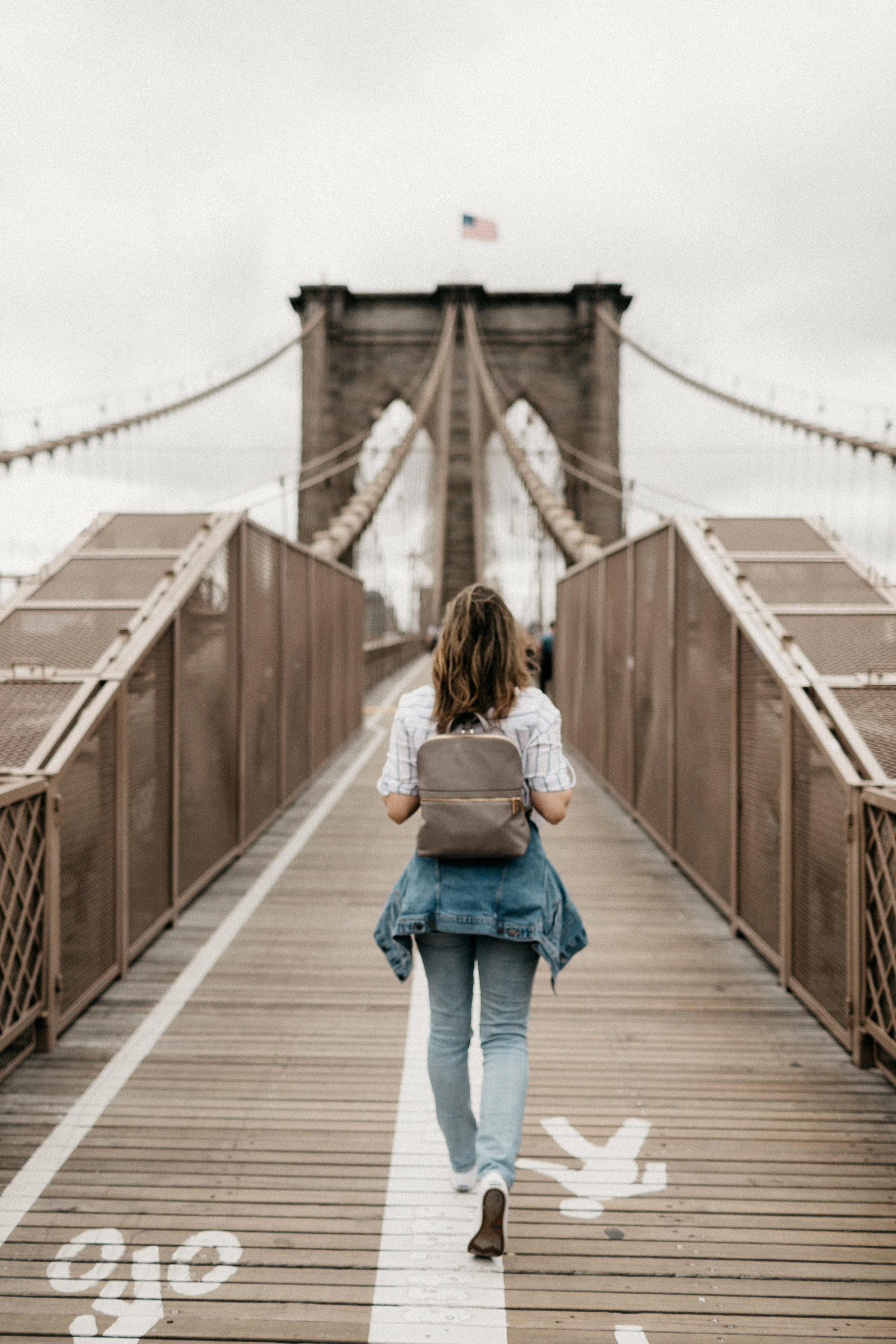 Manhattan, NYC, Brooklyn Bridge
