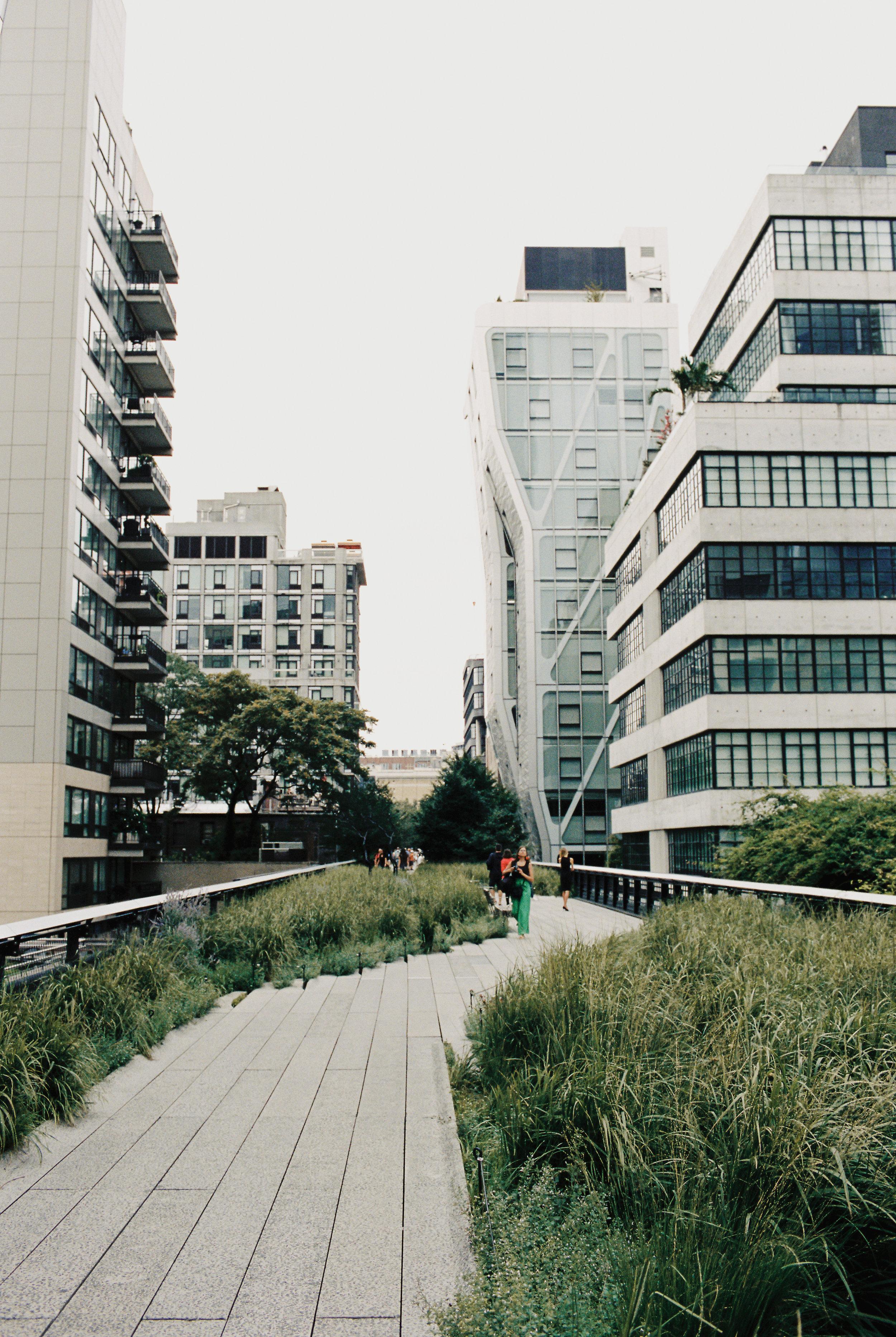 Highline in Manhattan, NYC