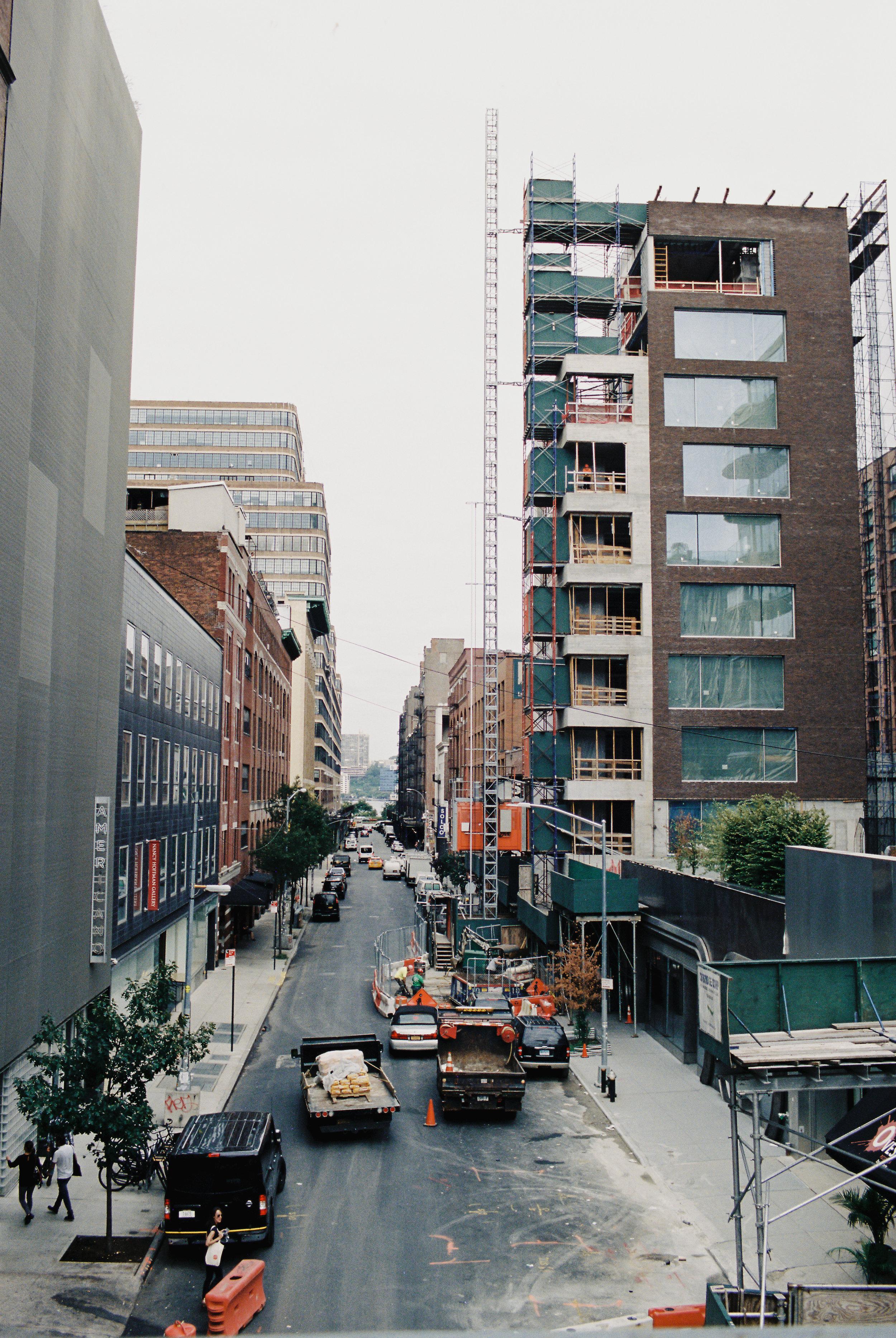 Manhattan, NY streets