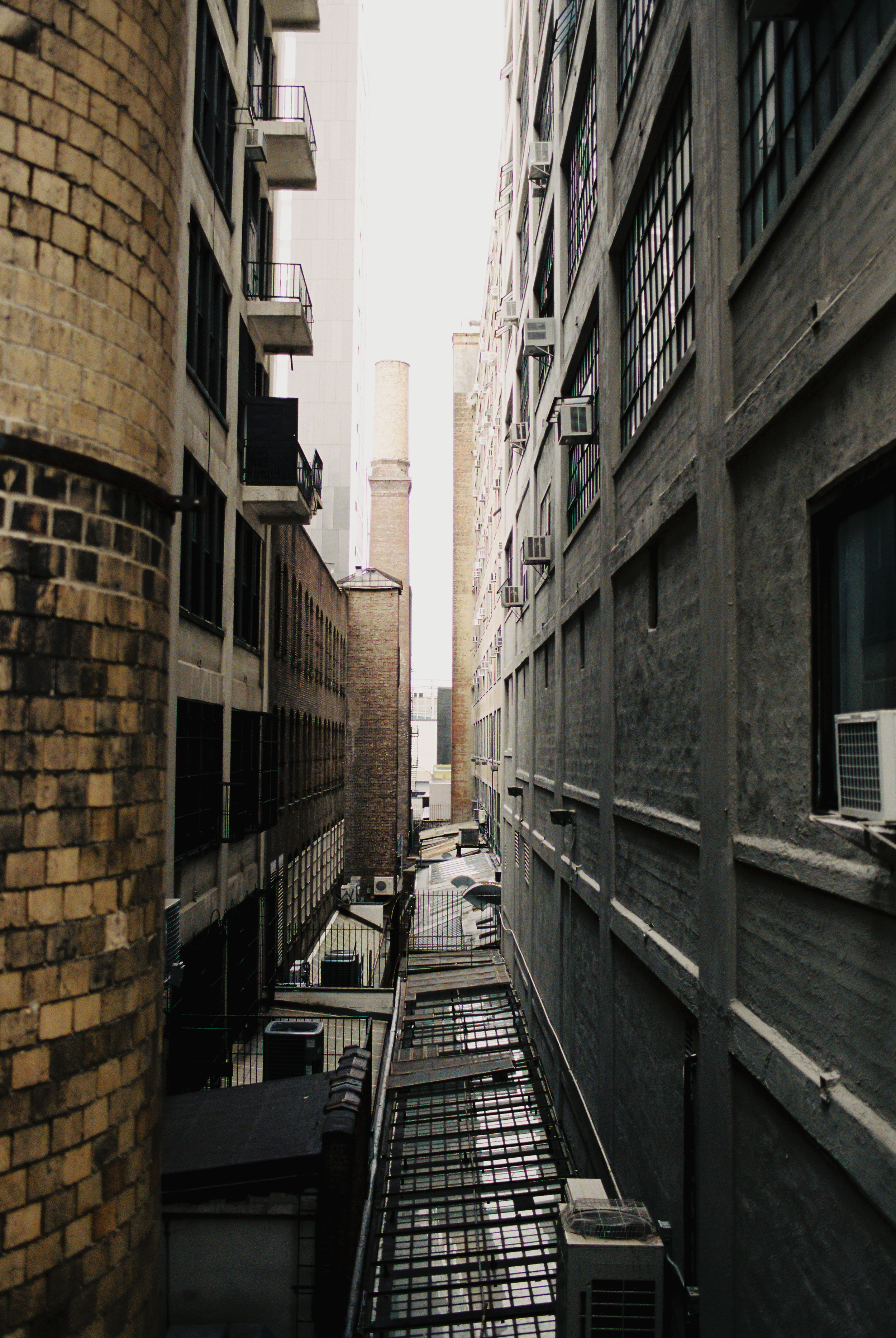Alleyway in Manhattan, New York