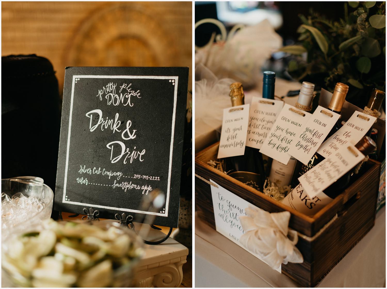 Wedding details at the Gabrella Manor