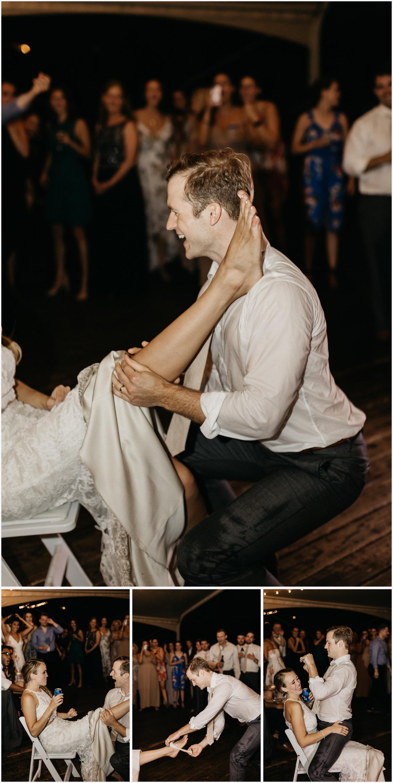 Wedding reception at the Gabrella Manor