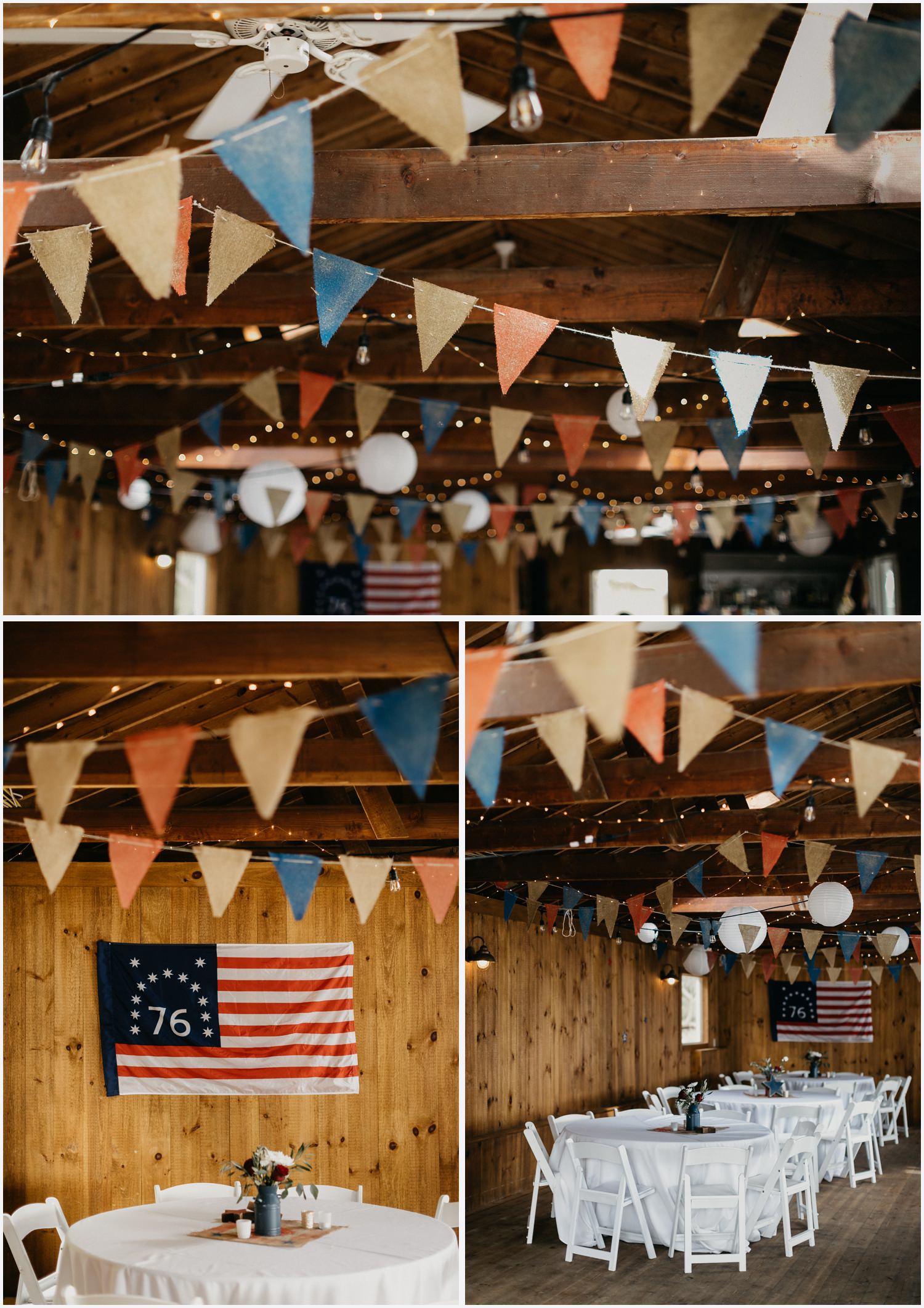 Chequessett Yacht & Country Club wedding decor