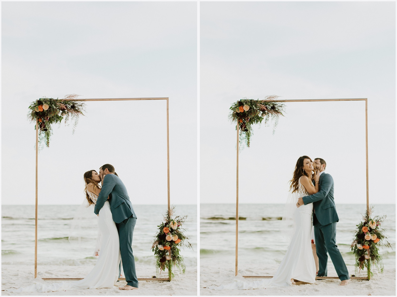 Wedding ceremony at Rosemary Beach