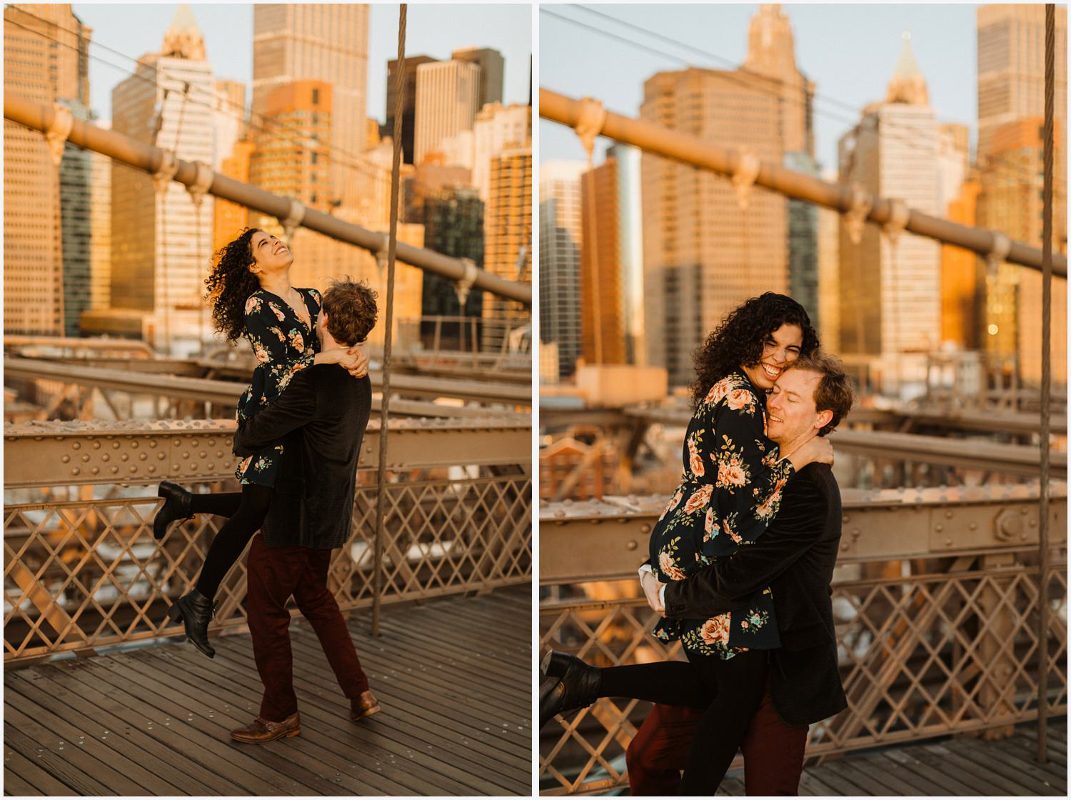 Brooklyn Bridge Manhattan Sunrise Session