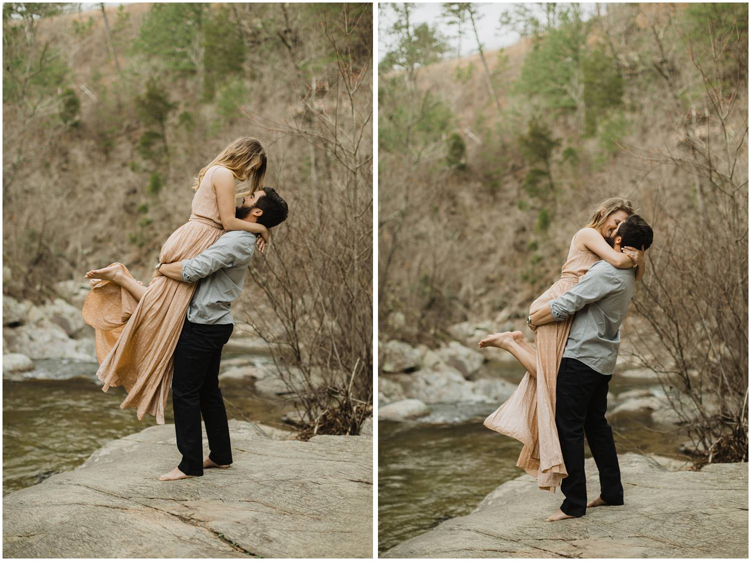 Cheaha Falls State Park Engagement Session