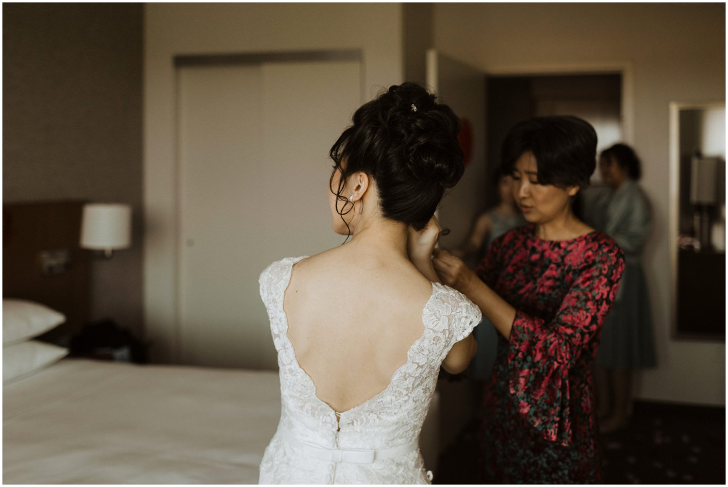 Bridal Prep Eden Gardens Wedding