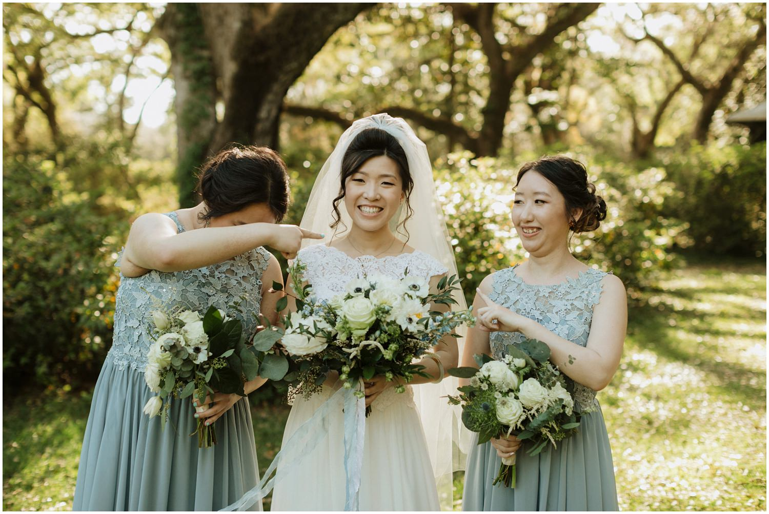 Bridesmaids Eden Gardens Wedding