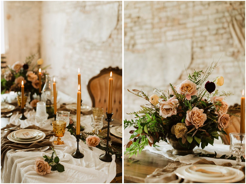 Table Decor 5eleven Palafox Wedding