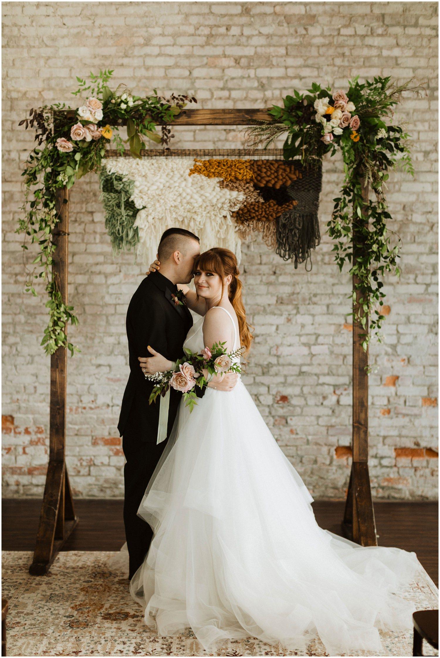Bride and Groom Portraits 5eleven Palafox Wedding