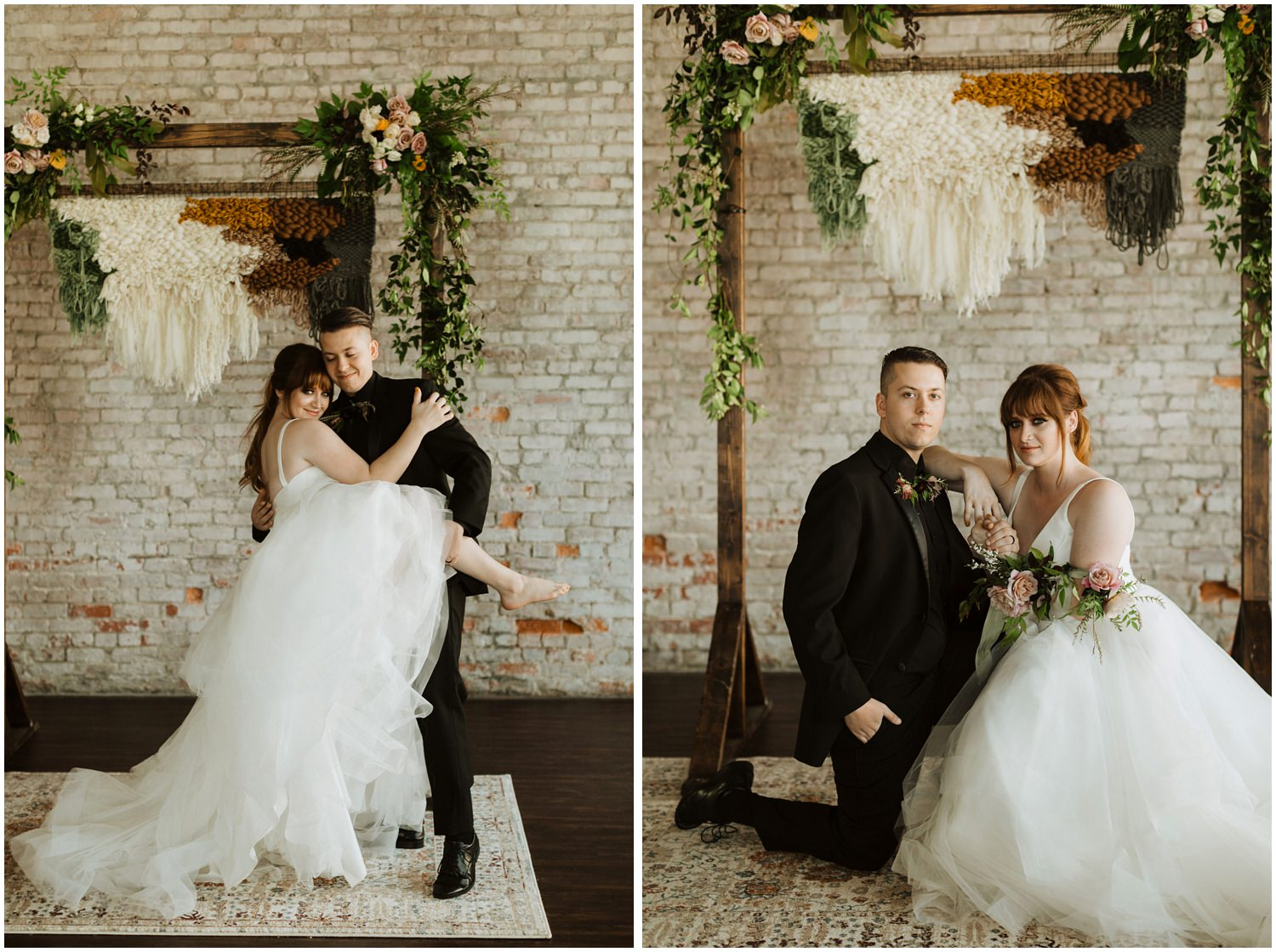 Bride and Groom Portraits 5eleven Palafox Wedding