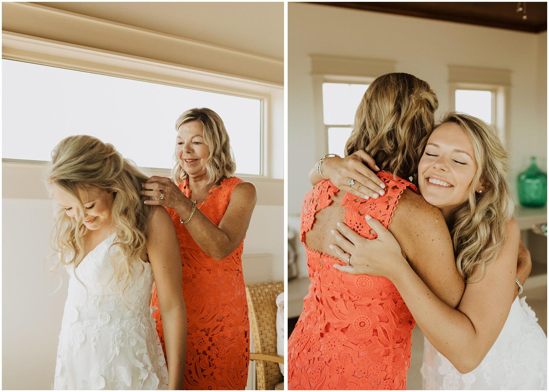 Bridal Prep Bud and Alley's Seaside Wedding