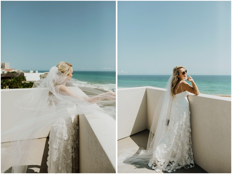 Bride Bud and Alley's Seaside Wedding