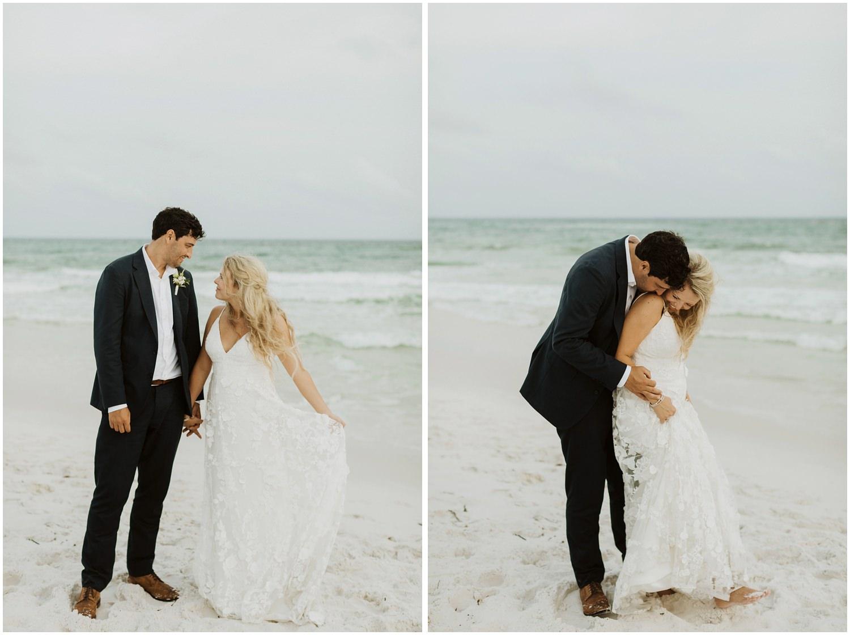 Bridal Portraits Bud and Alley's Seaside Wedding