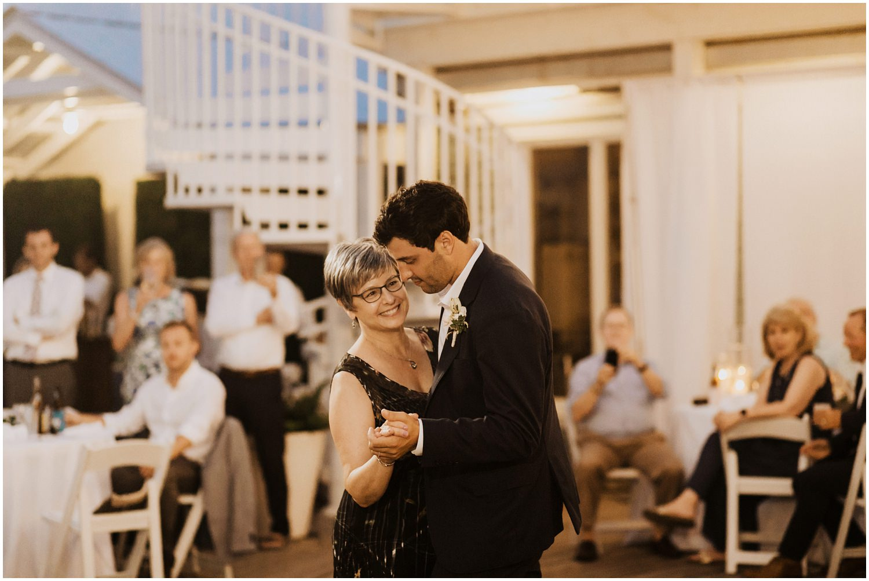 Mother Groom Dance Bud and Alley's Seaside Wedding