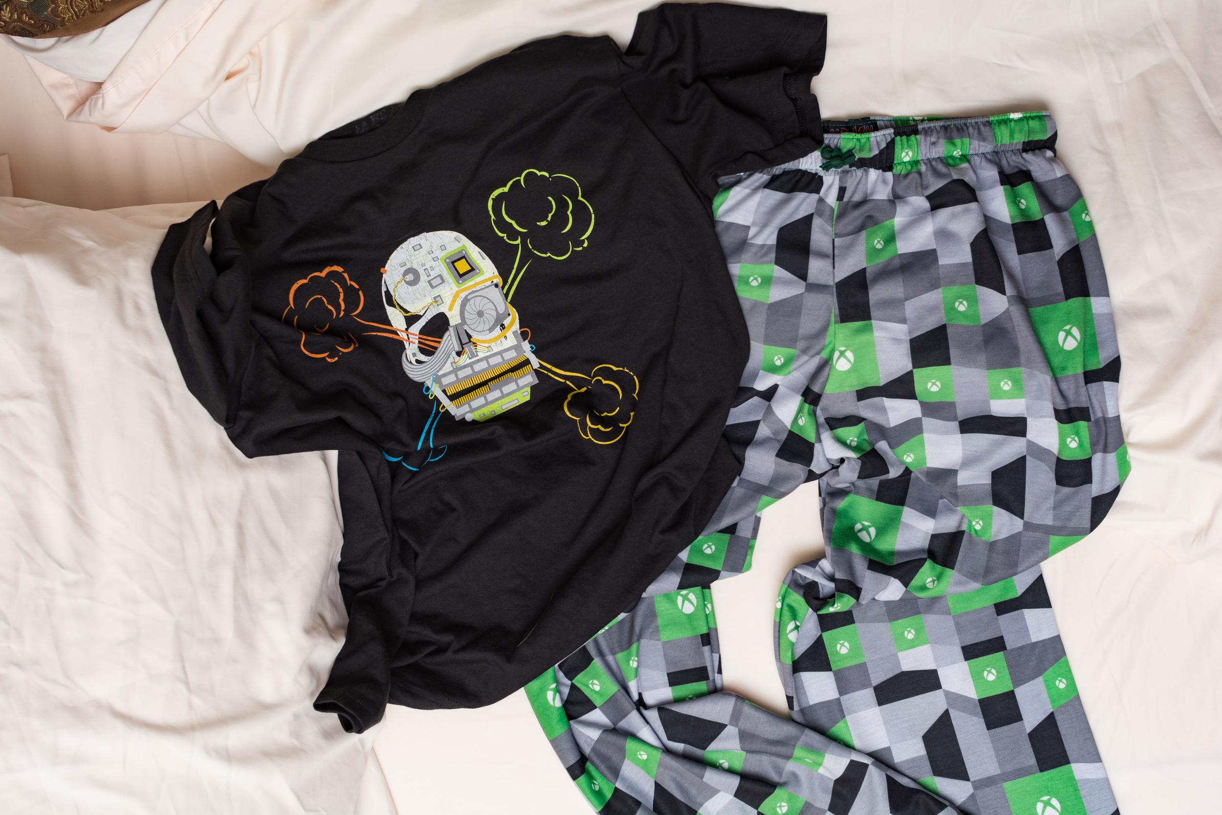 Custom Xbox Pajamas