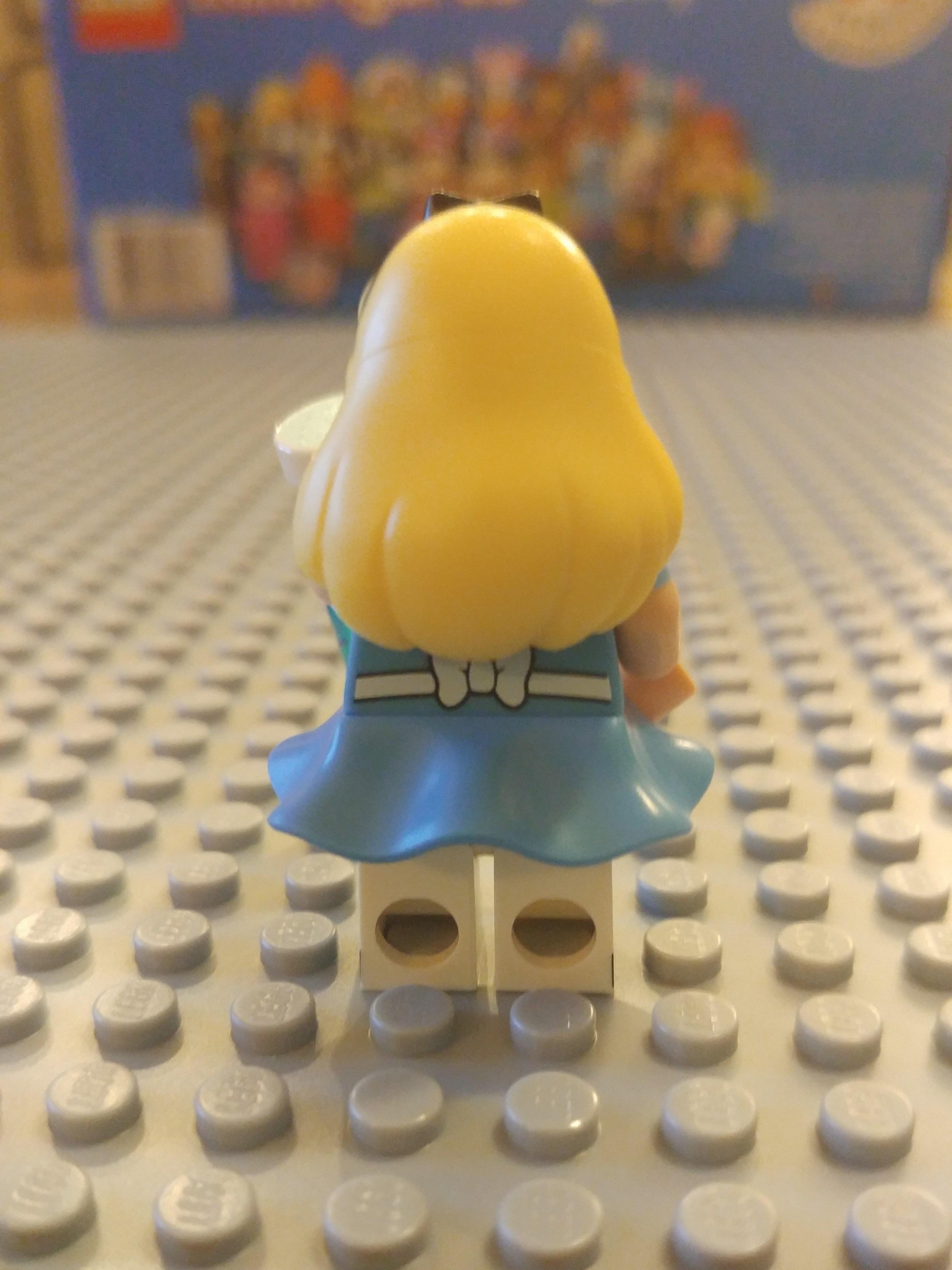 Alice Minifig Close Up - Back