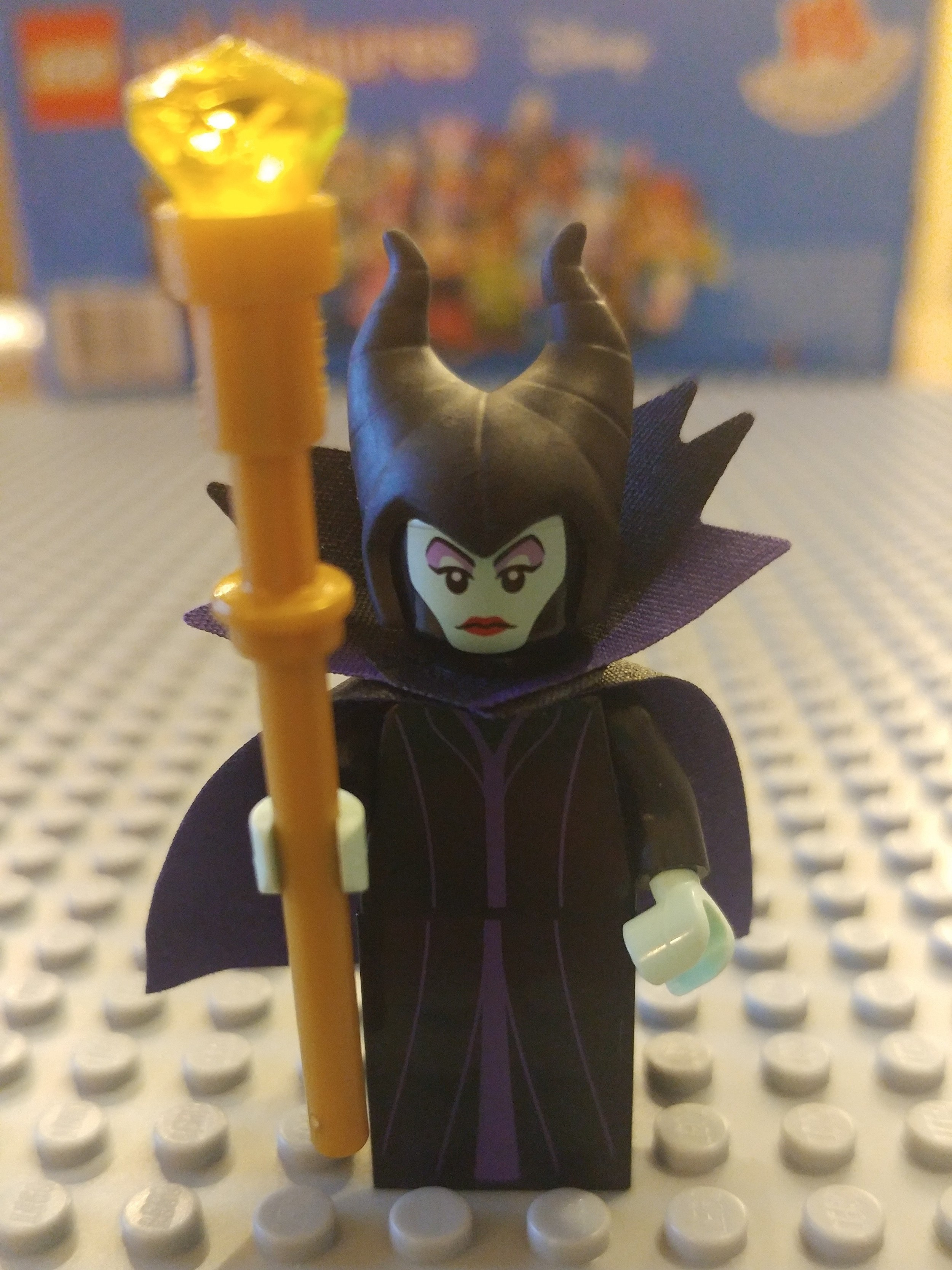 Maleficent Minifig Close Up - Front