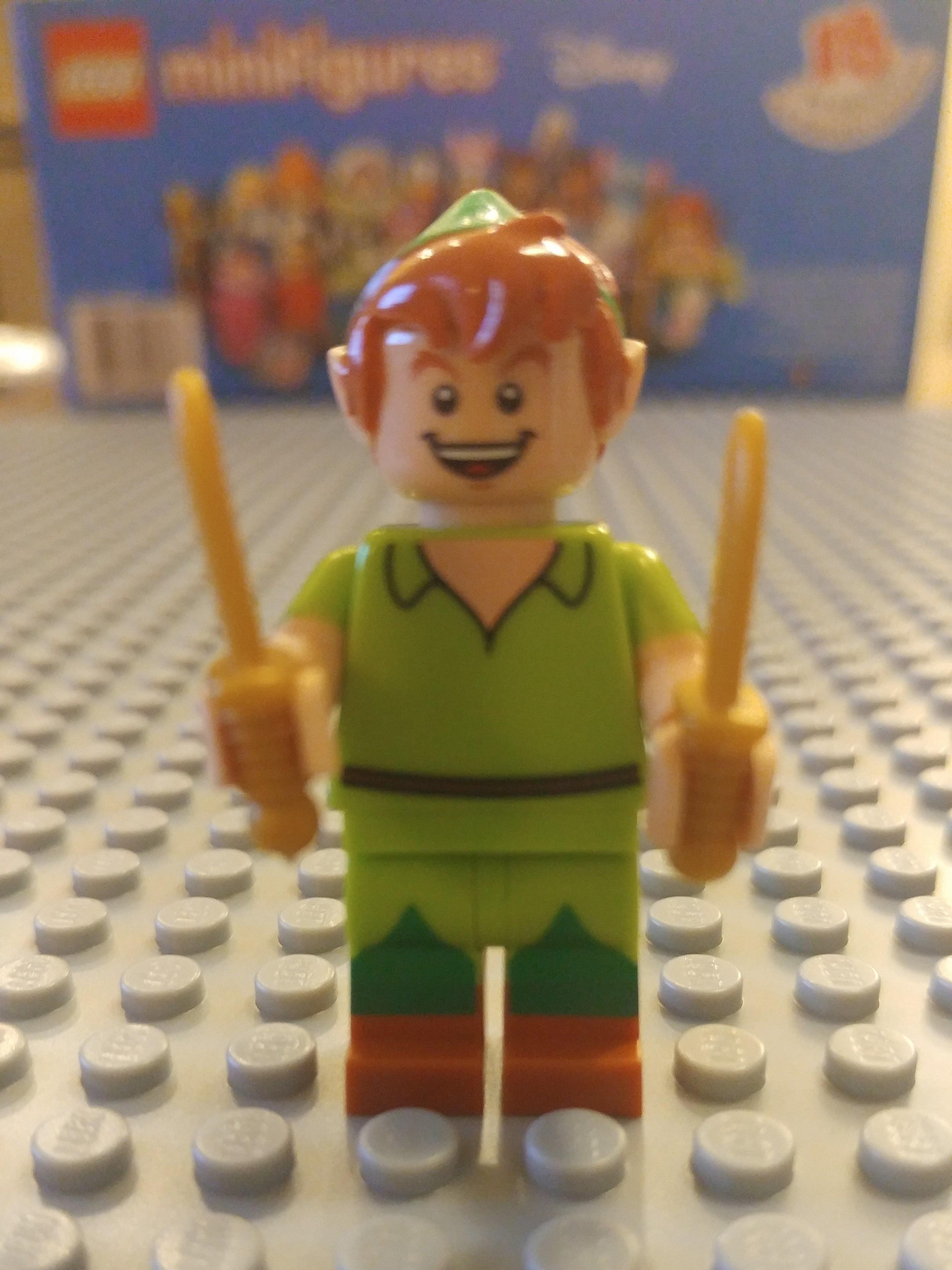 Peter Pan Minifig Close Up - Front