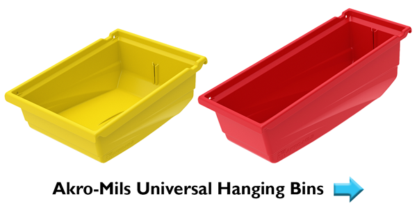 Akro-Mils Universal Hanging Bins