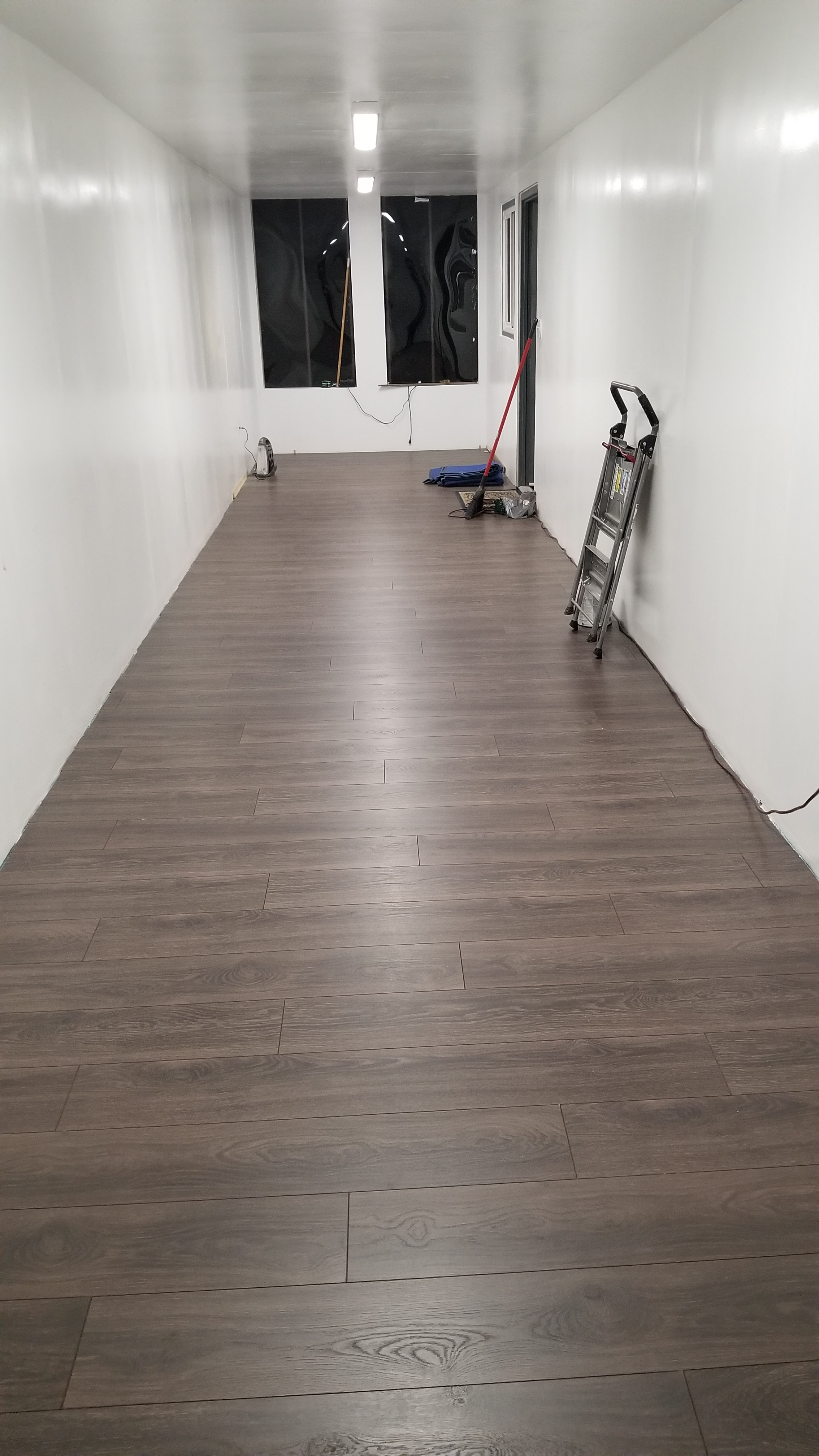 "Our ""In Progress"" Office Floors"