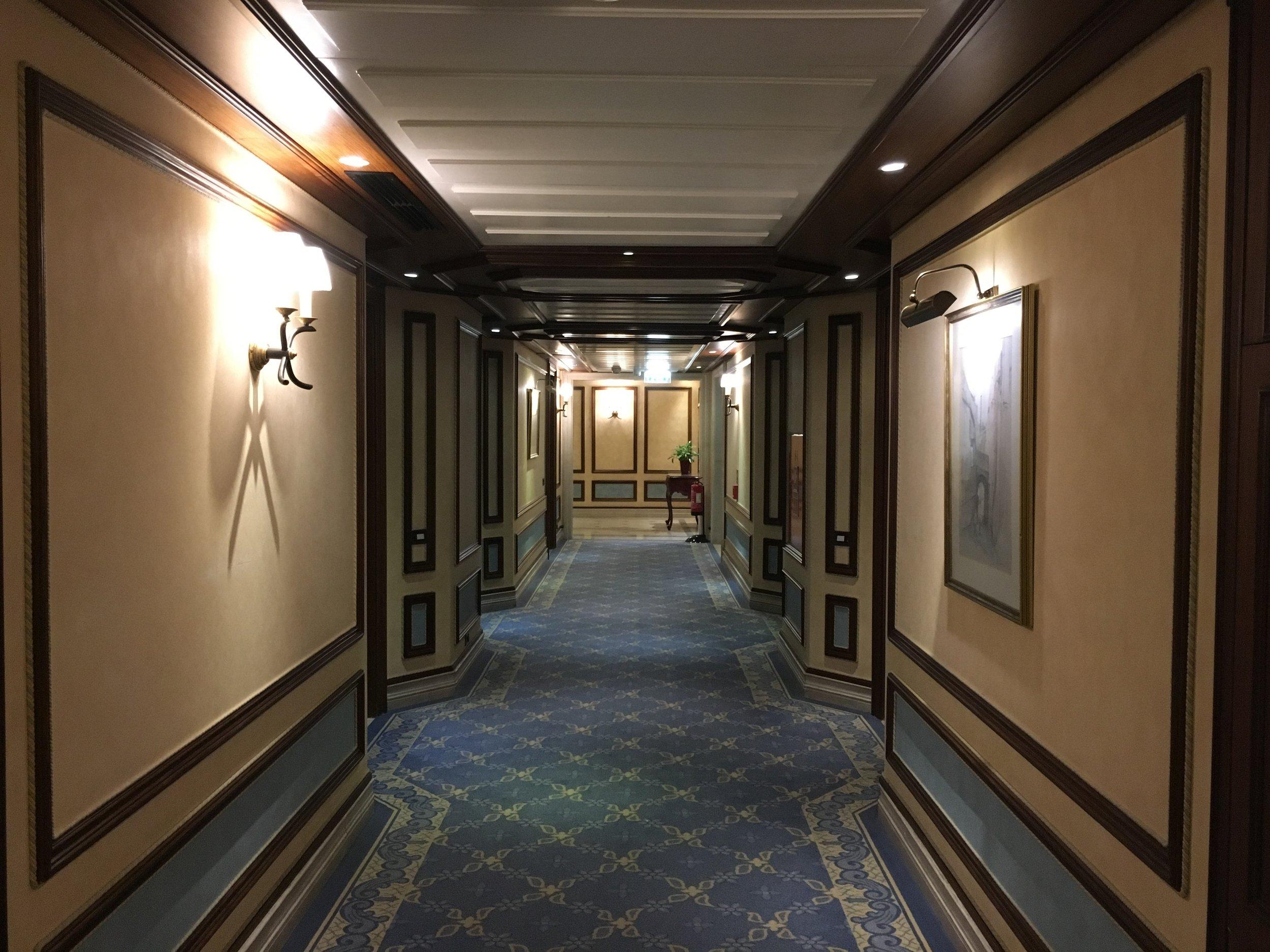 Olissippo Lapa Palace Hotel Hallway - Palace Wing