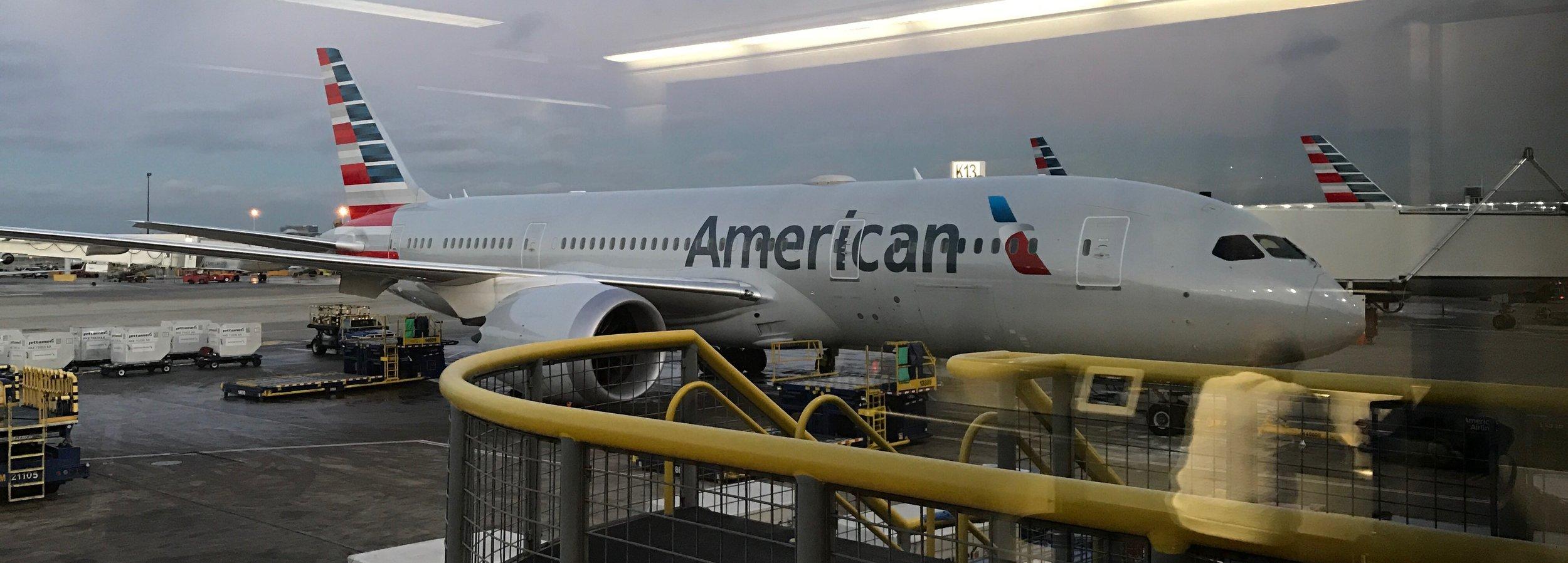 American Airlines 787-8 Dreamliner