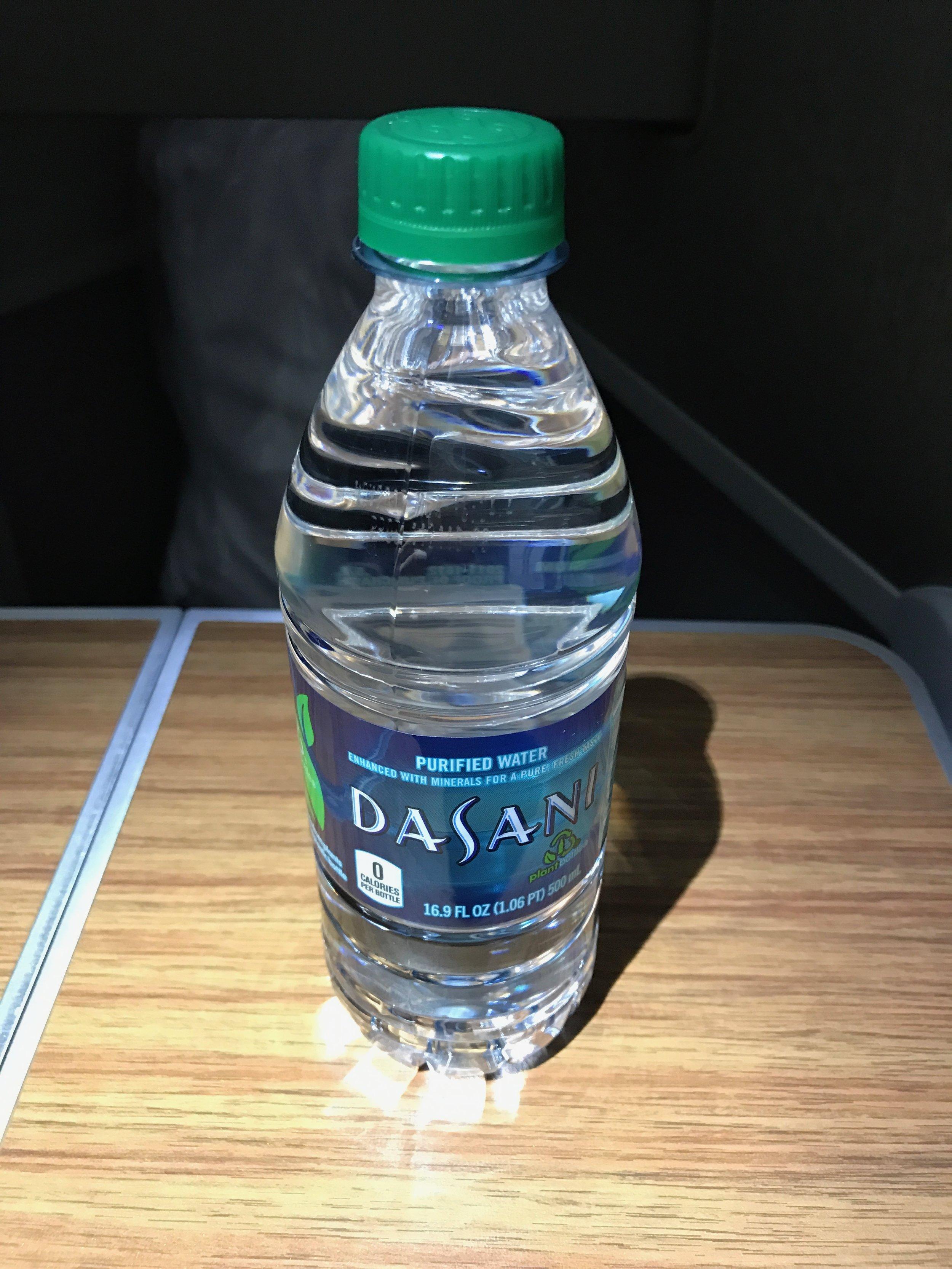 Business class water bottle