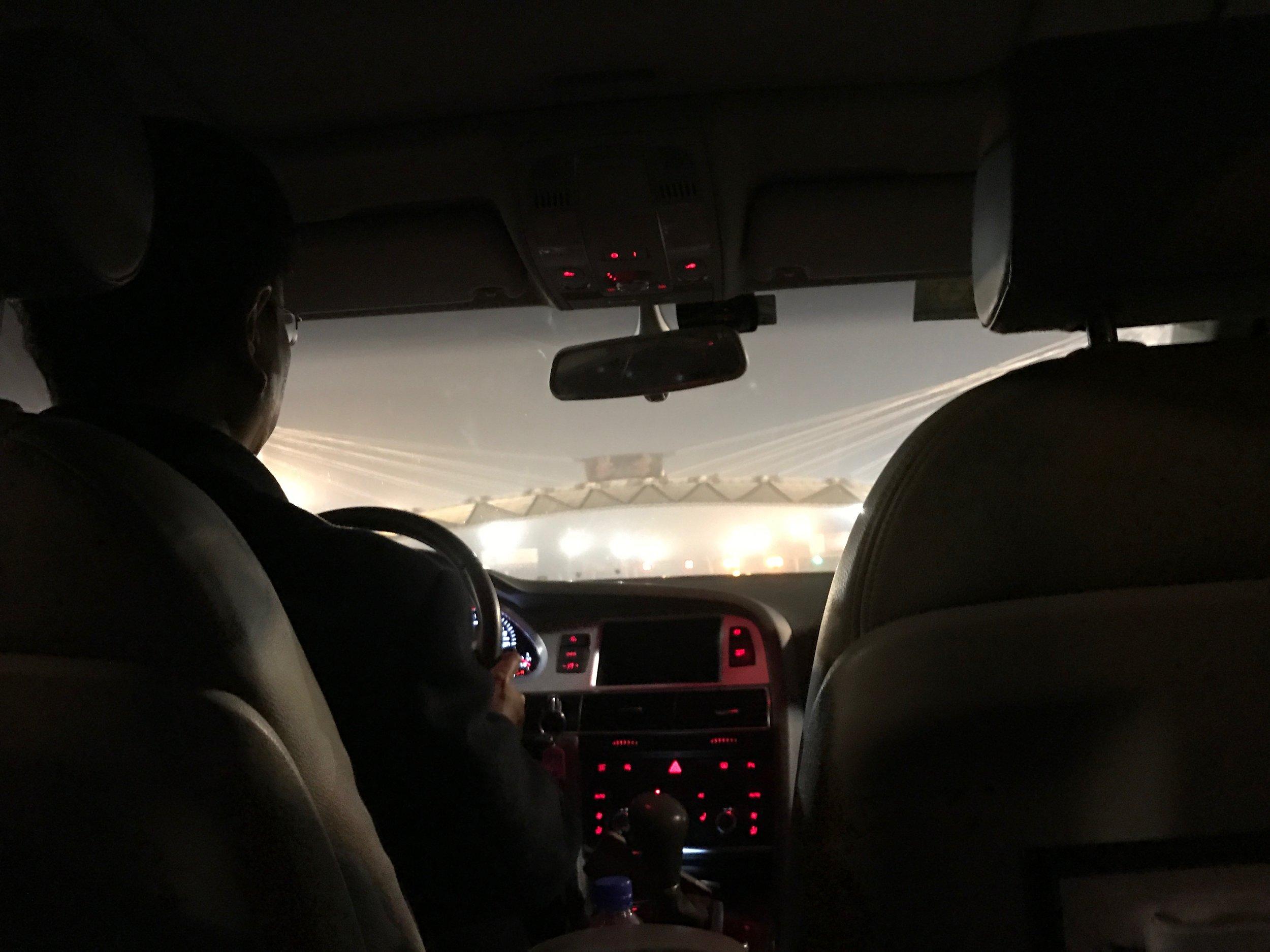 Private airport car - driver