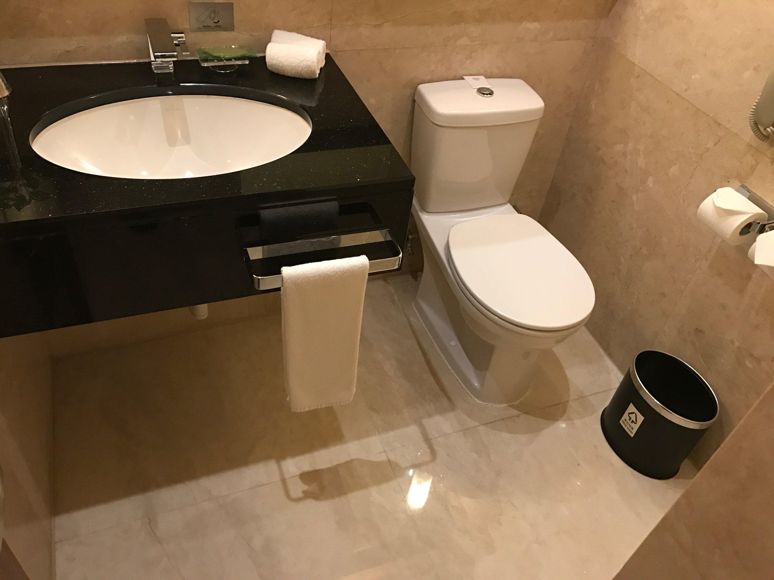 Executive Renewal Suite - guest bathroom